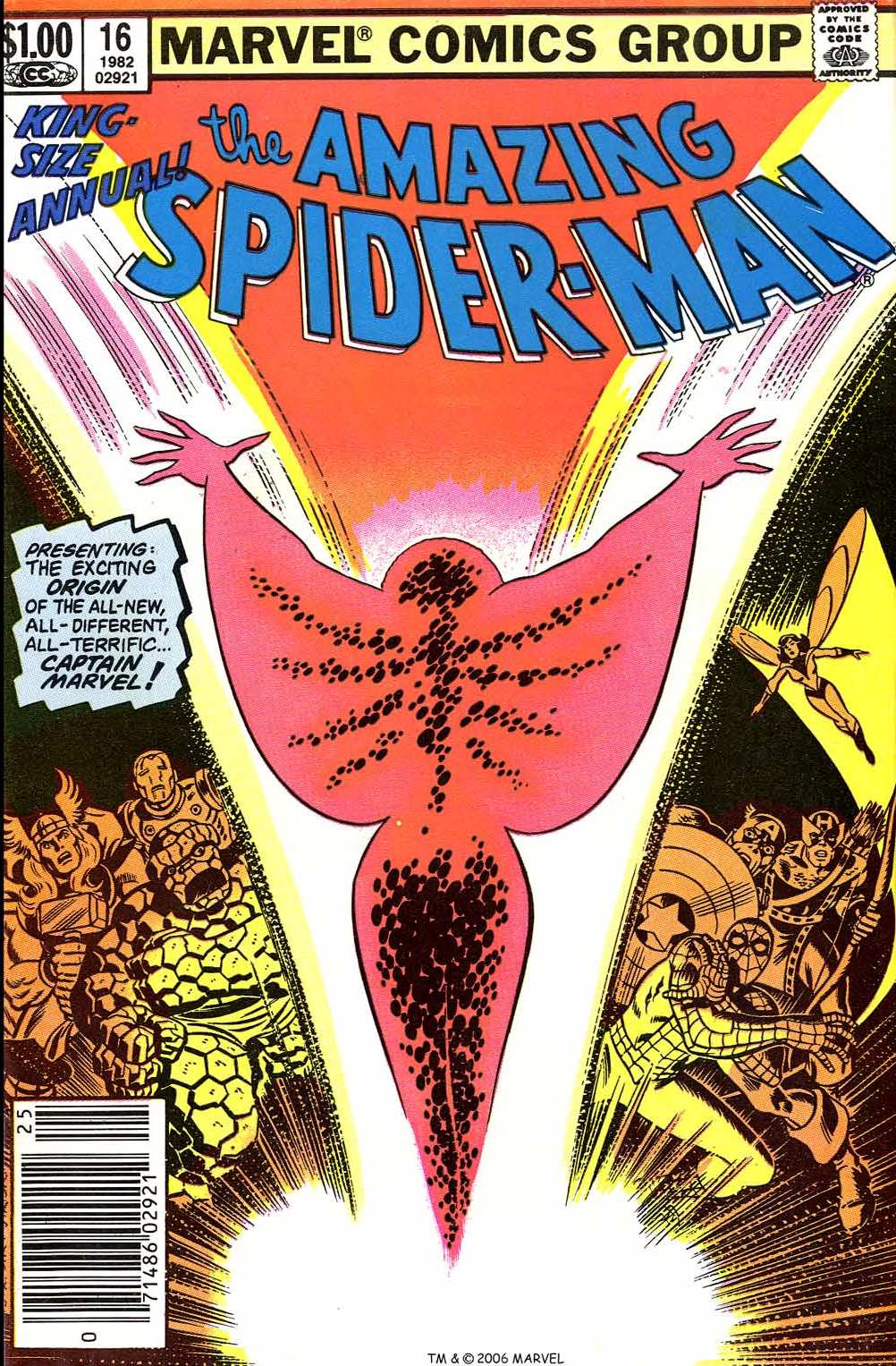 The Amazing Spider-Man (1963) _Annual_16 Page 1