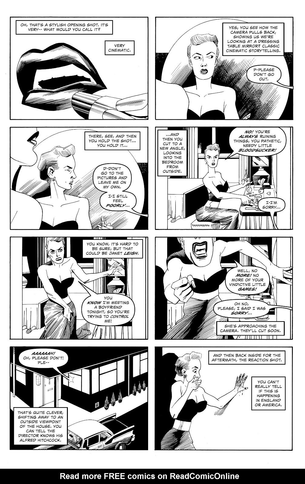 Read online Alan Moore's Cinema Purgatorio comic -  Issue #18 - 6