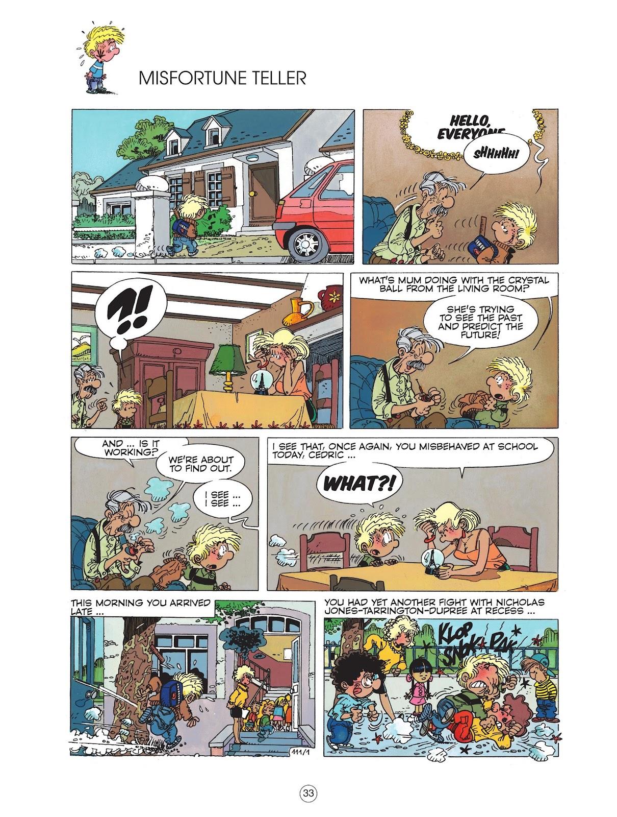 Read online Cedric comic -  Issue #6 - 35