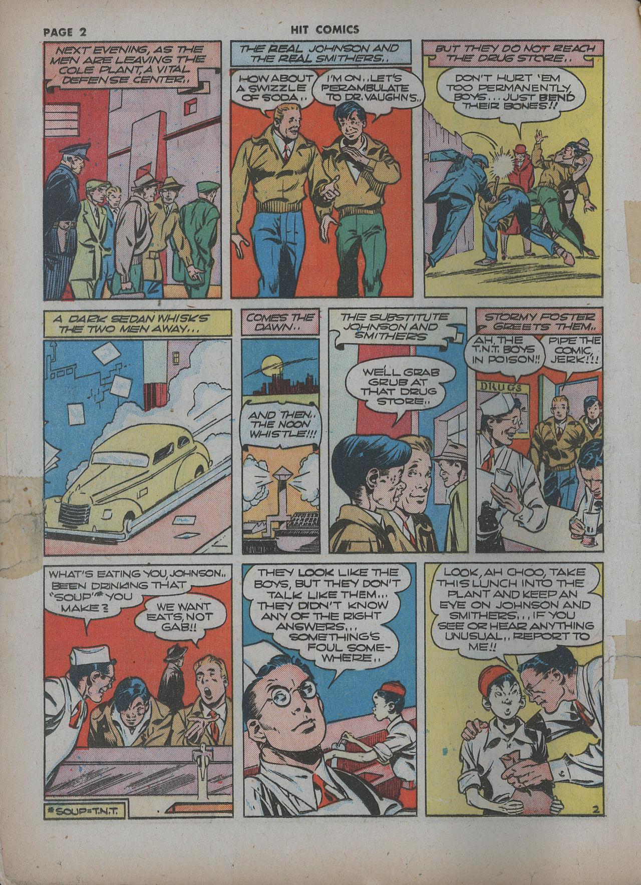Read online Hit Comics comic -  Issue #22 - 4