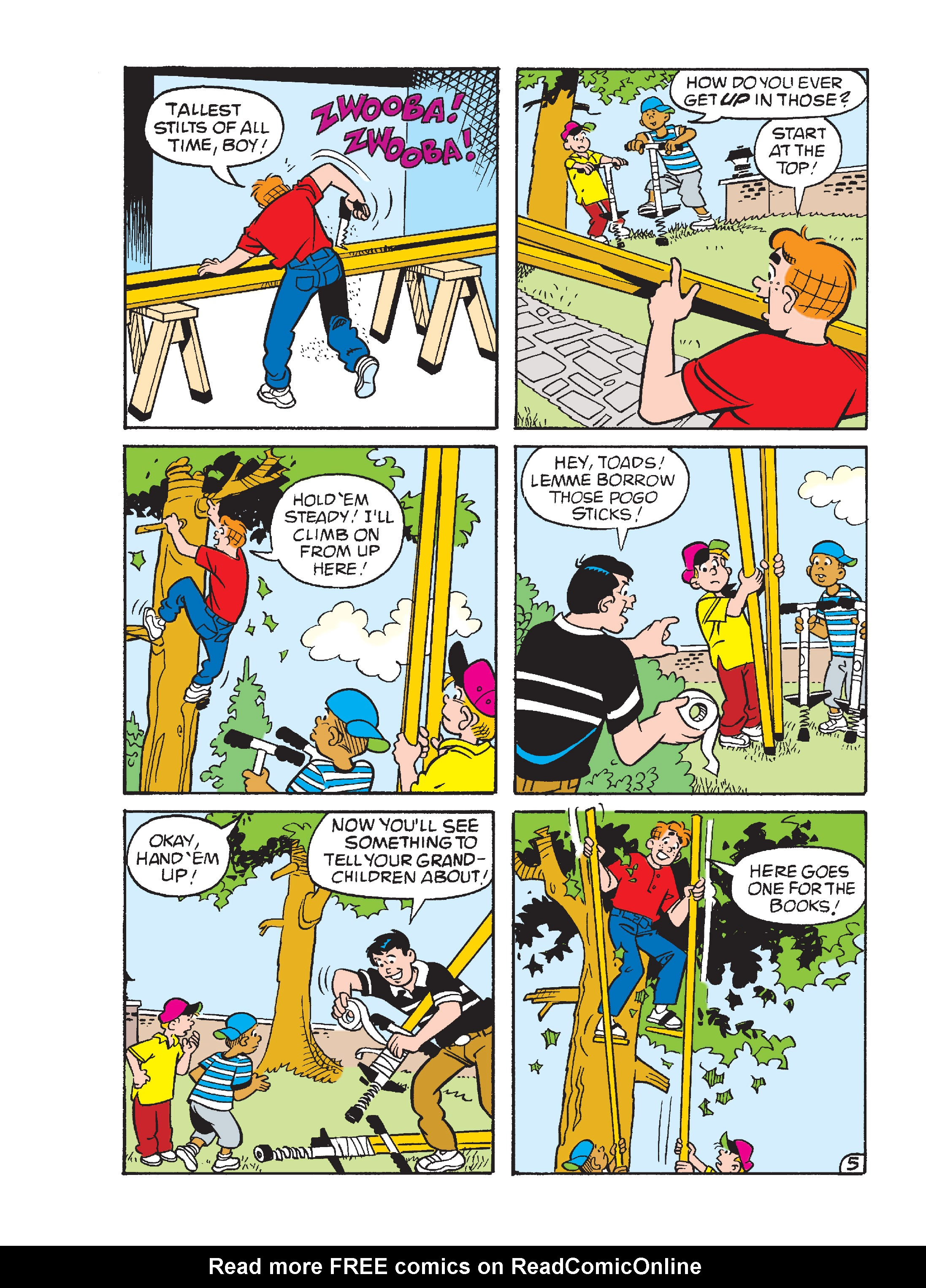 Read online Archie Giant Comics Collection comic -  Issue #Archie Giant Comics Collection TPB (Part 2) - 167