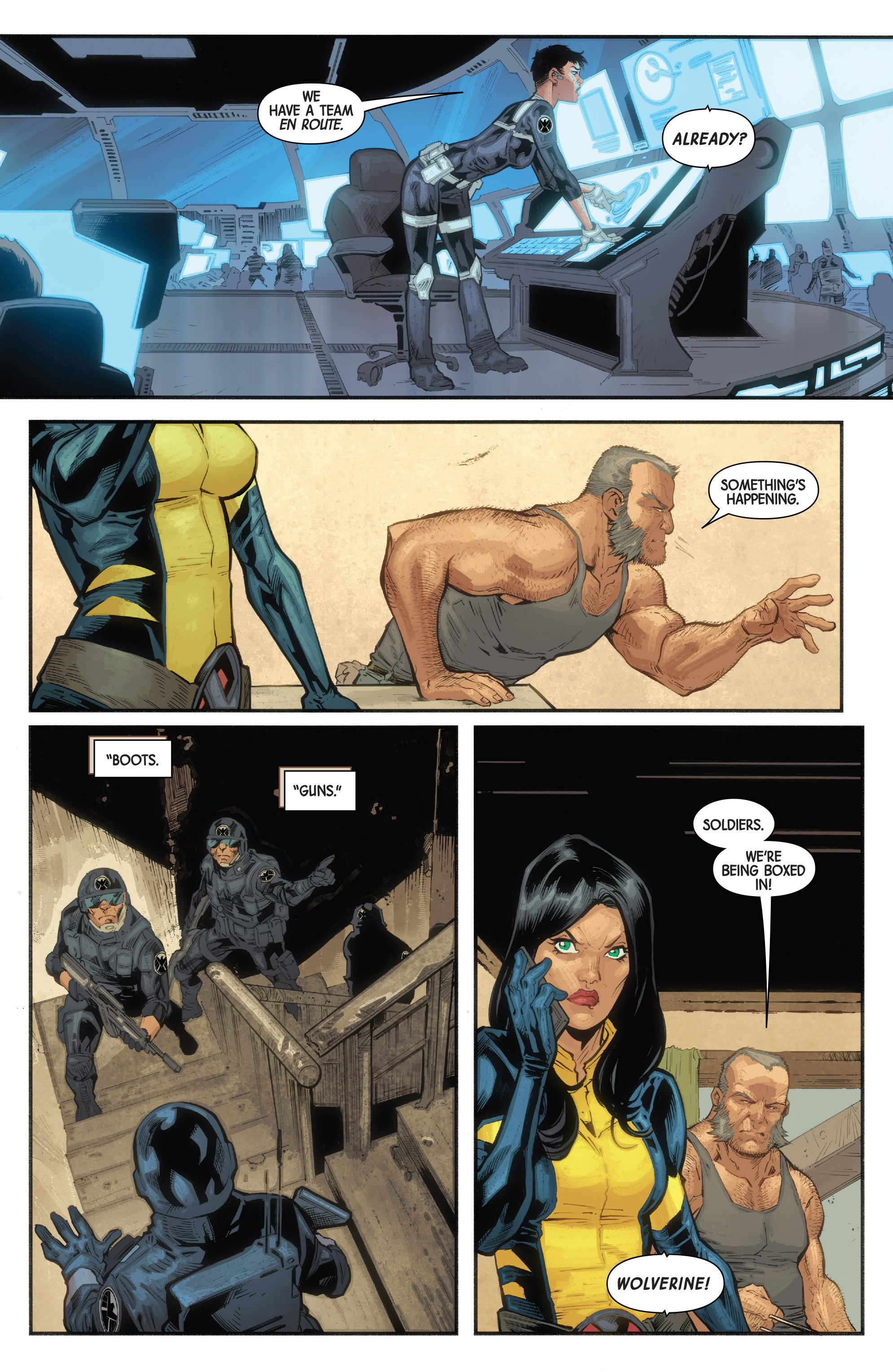 Read online All-New Wolverine (2016) comic -  Issue #10 - 30