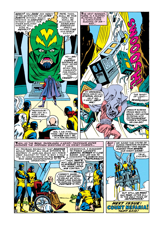 Read online Uncanny X-Men (1963) comic -  Issue #21 - 21