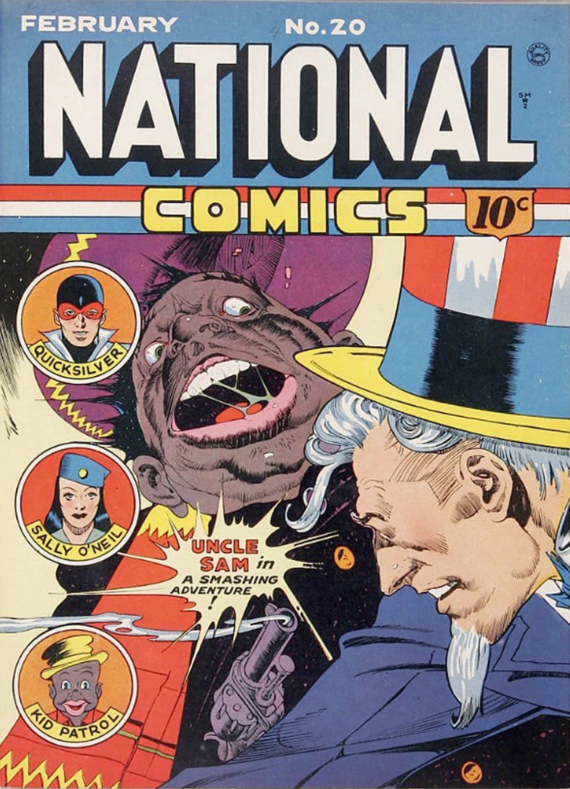 National Comics (1940) issue 20 - Page 1