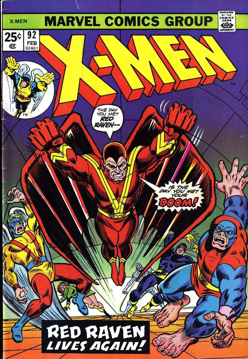 Uncanny X-Men (1963) 92 Page 1