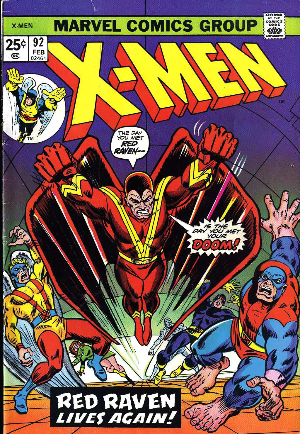 Uncanny X-Men (1963) issue 92 - Page 1