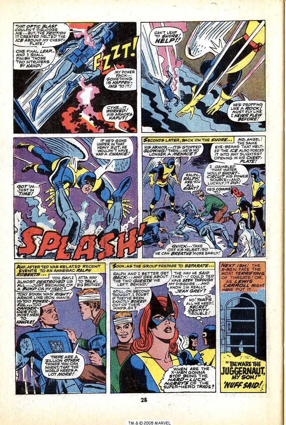 Uncanny X-Men (1963) 79 Page 29