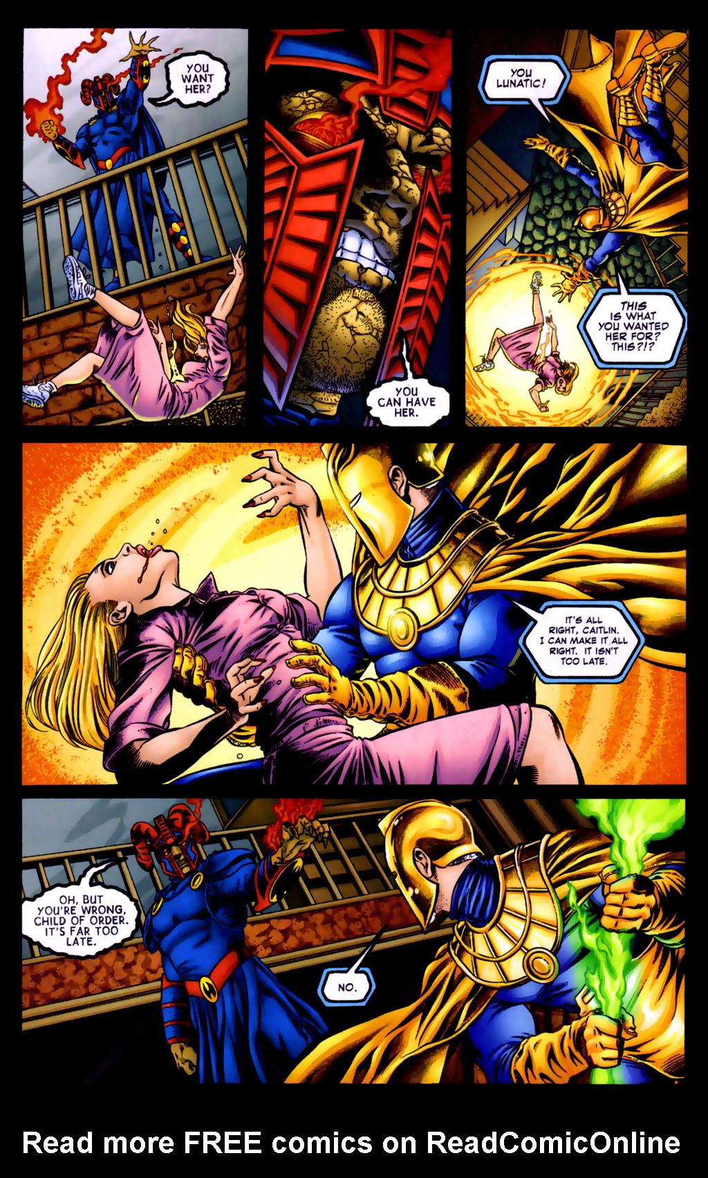 Read online Doctor Fate (2003) comic -  Issue #5 - 13