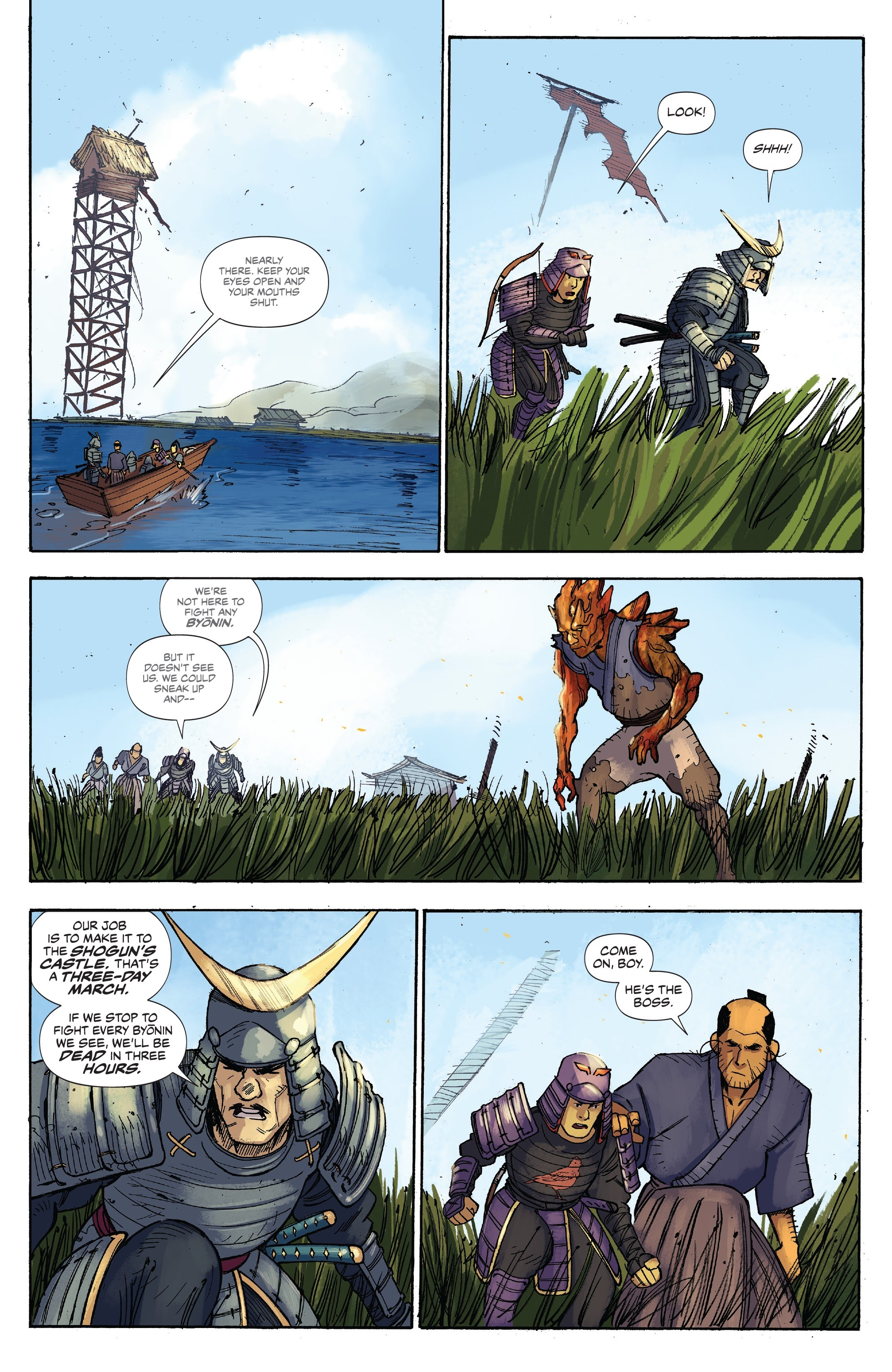 Read online Ronin Island comic -  Issue #3 - 10