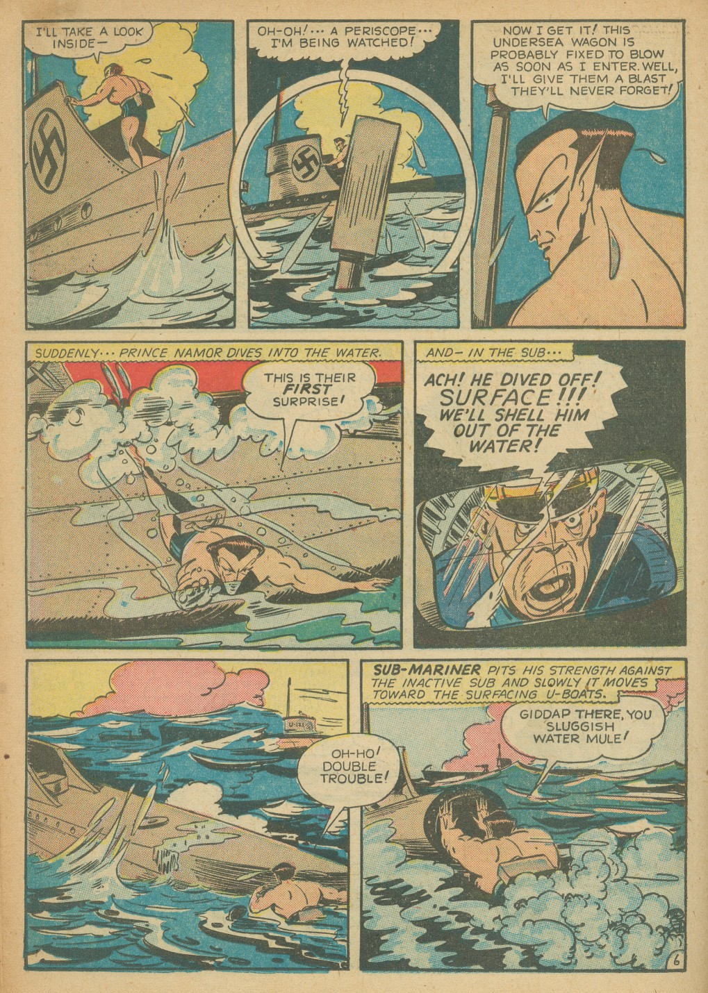 Read online All-Winners Comics comic -  Issue #8 - 34