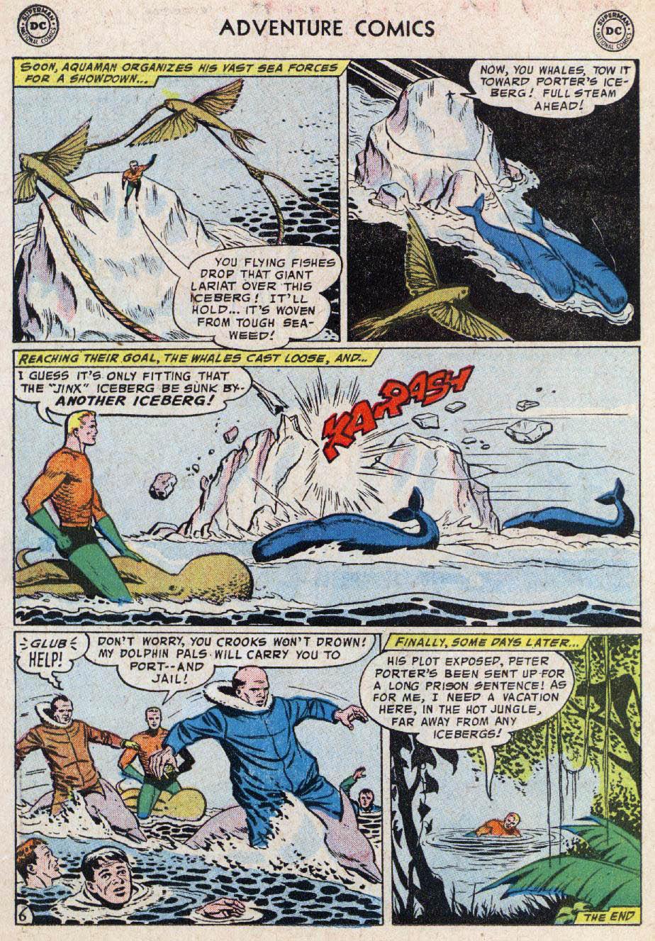 Read online Adventure Comics (1938) comic -  Issue #236 - 22
