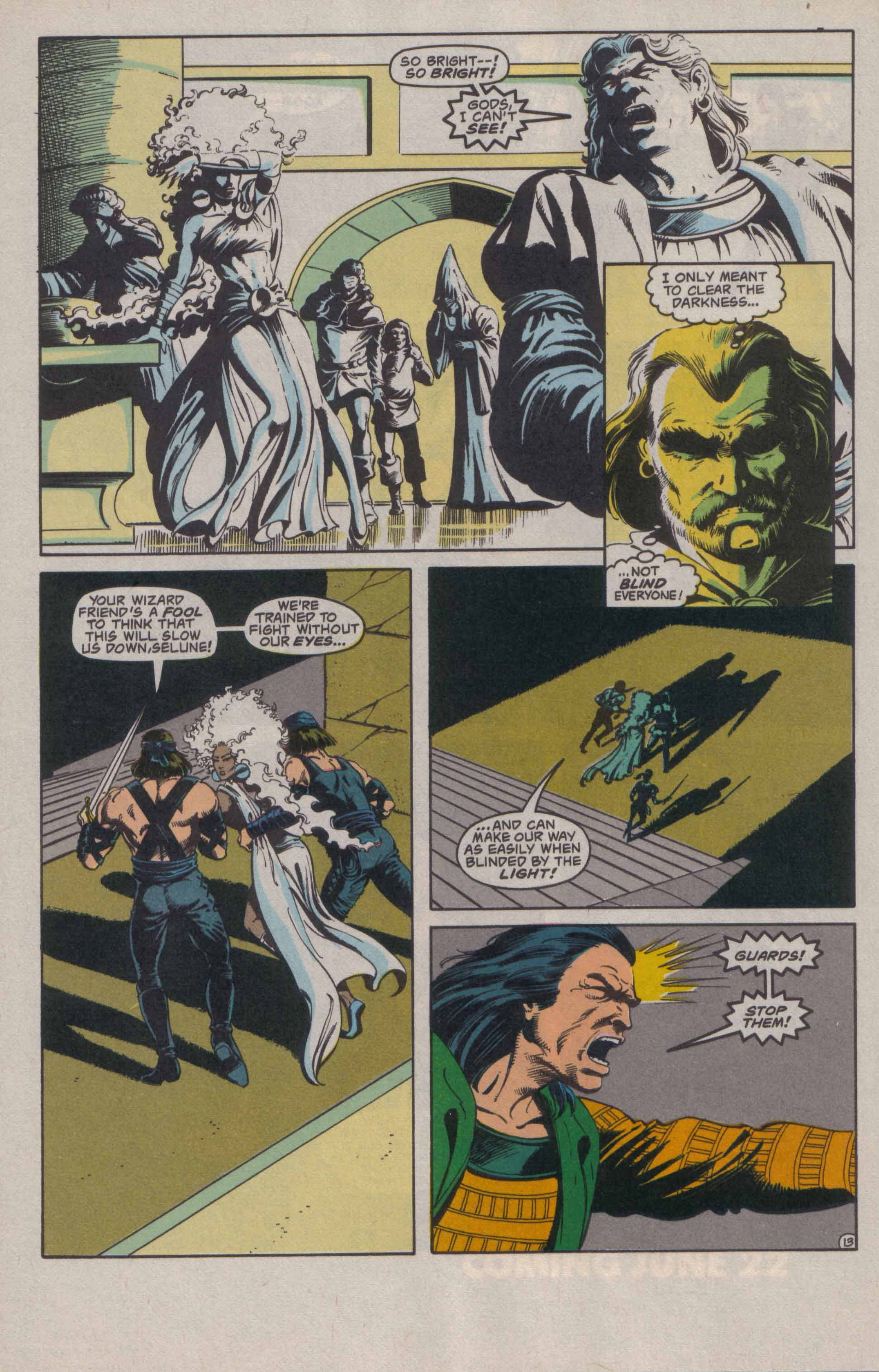 Read online Advanced Dungeons & Dragons comic -  Issue #20 - 14