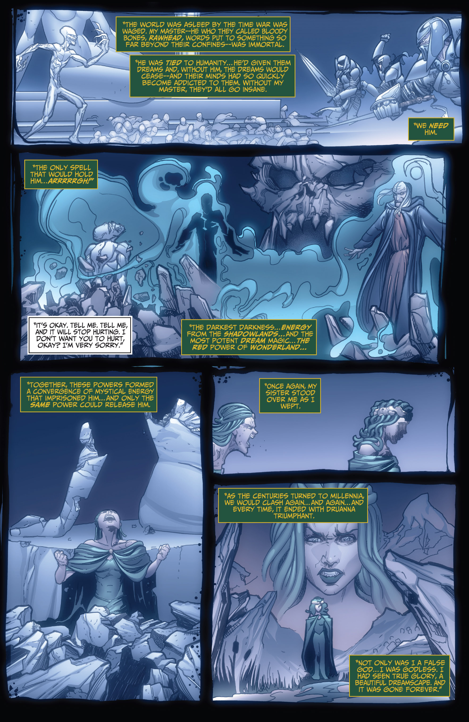 Read online Grimm Fairy Tales: Arcane Acre comic -  Issue # TPB 4 - 19