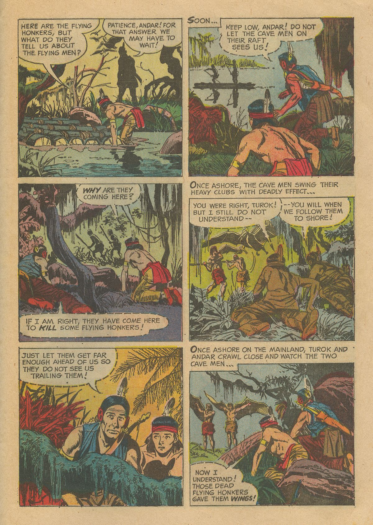 Read online Turok, Son of Stone comic -  Issue #54 - 29