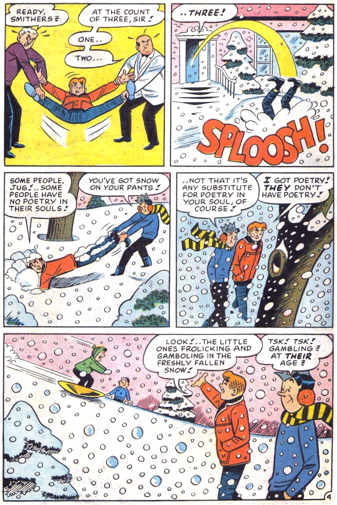 Read online Archie (1960) comic -  Issue #172 - 6