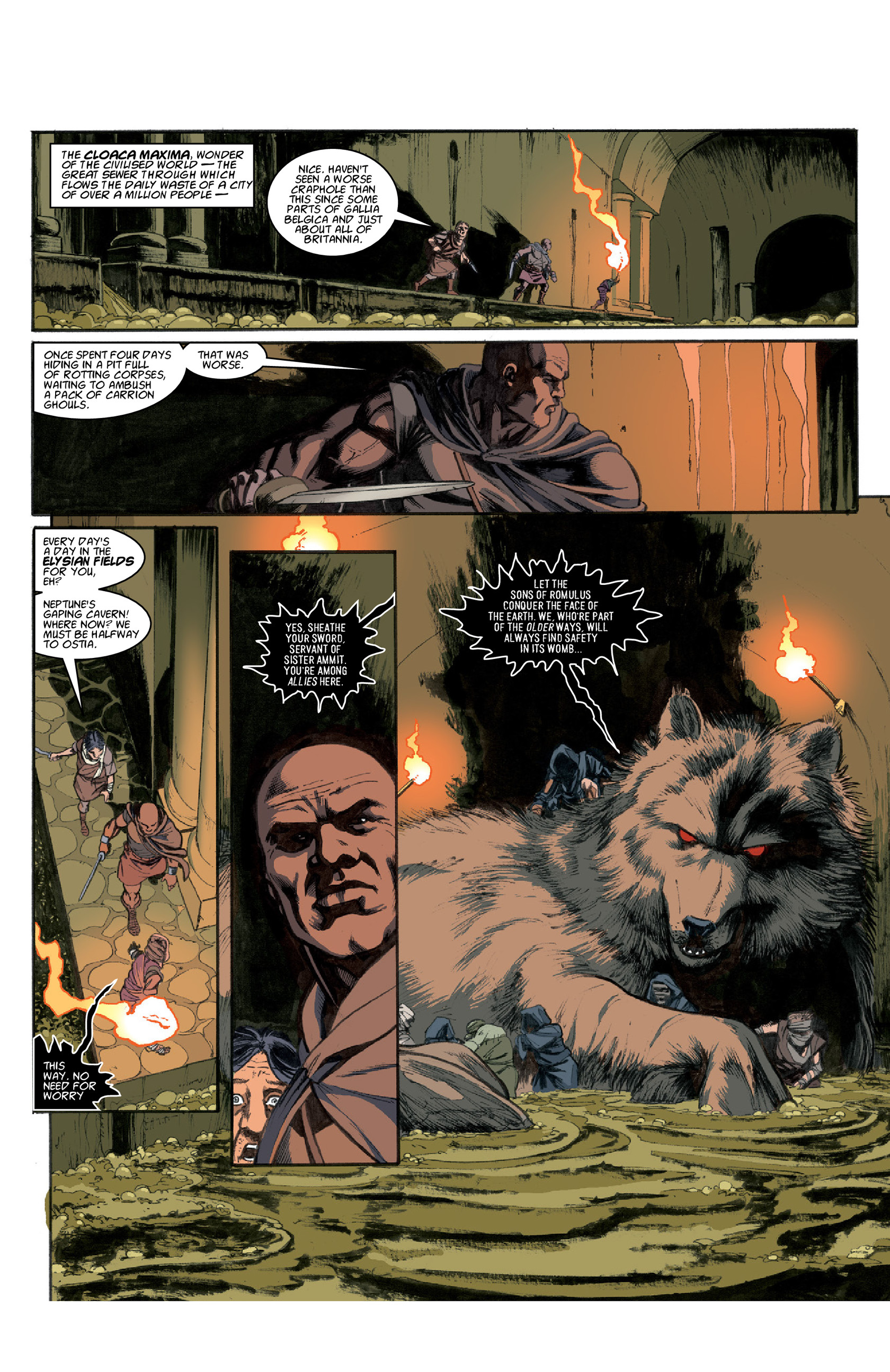 Read online Aquila comic -  Issue #3 - 12