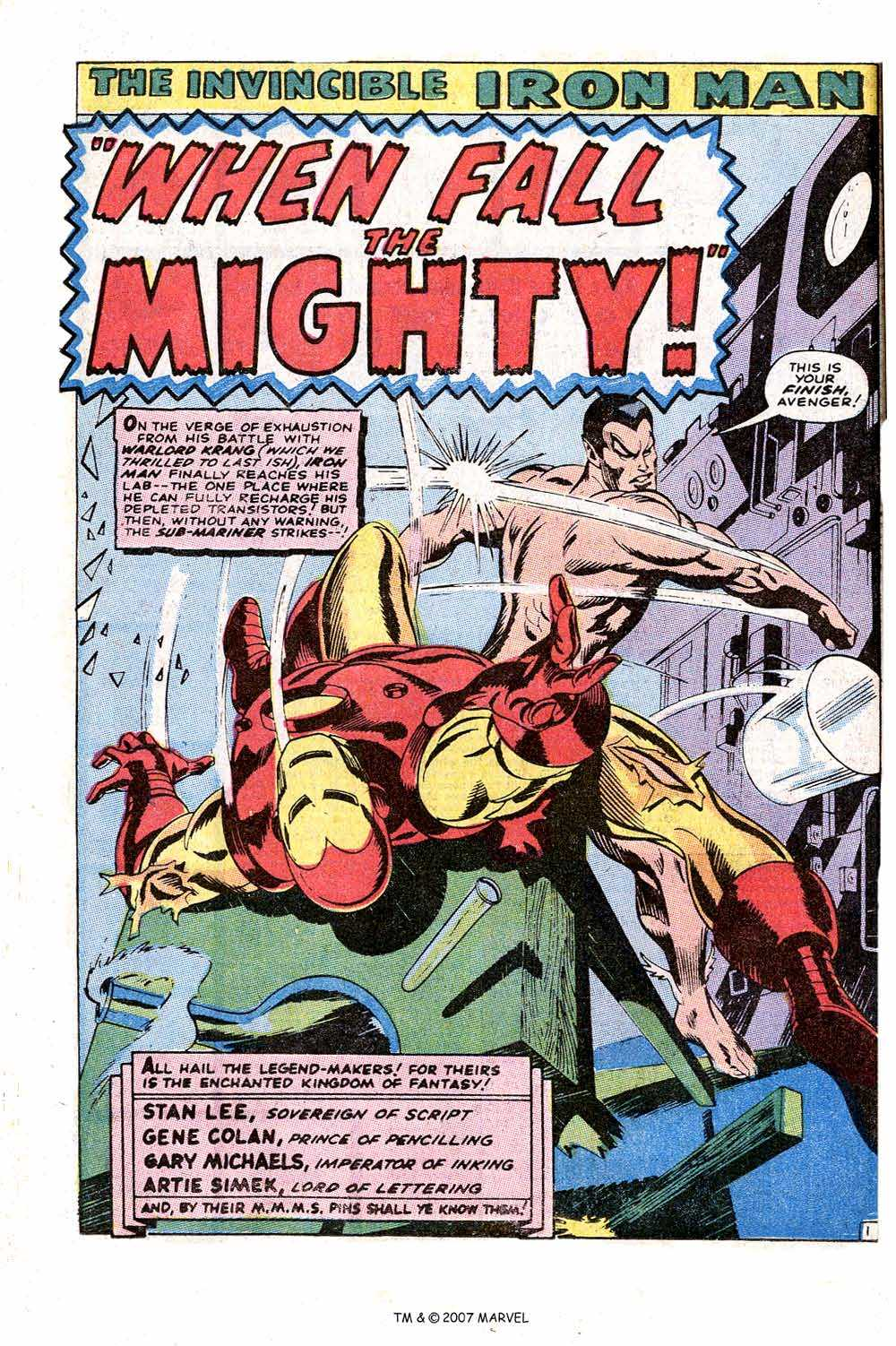 Iron Man Annual issue 1 - Page 36