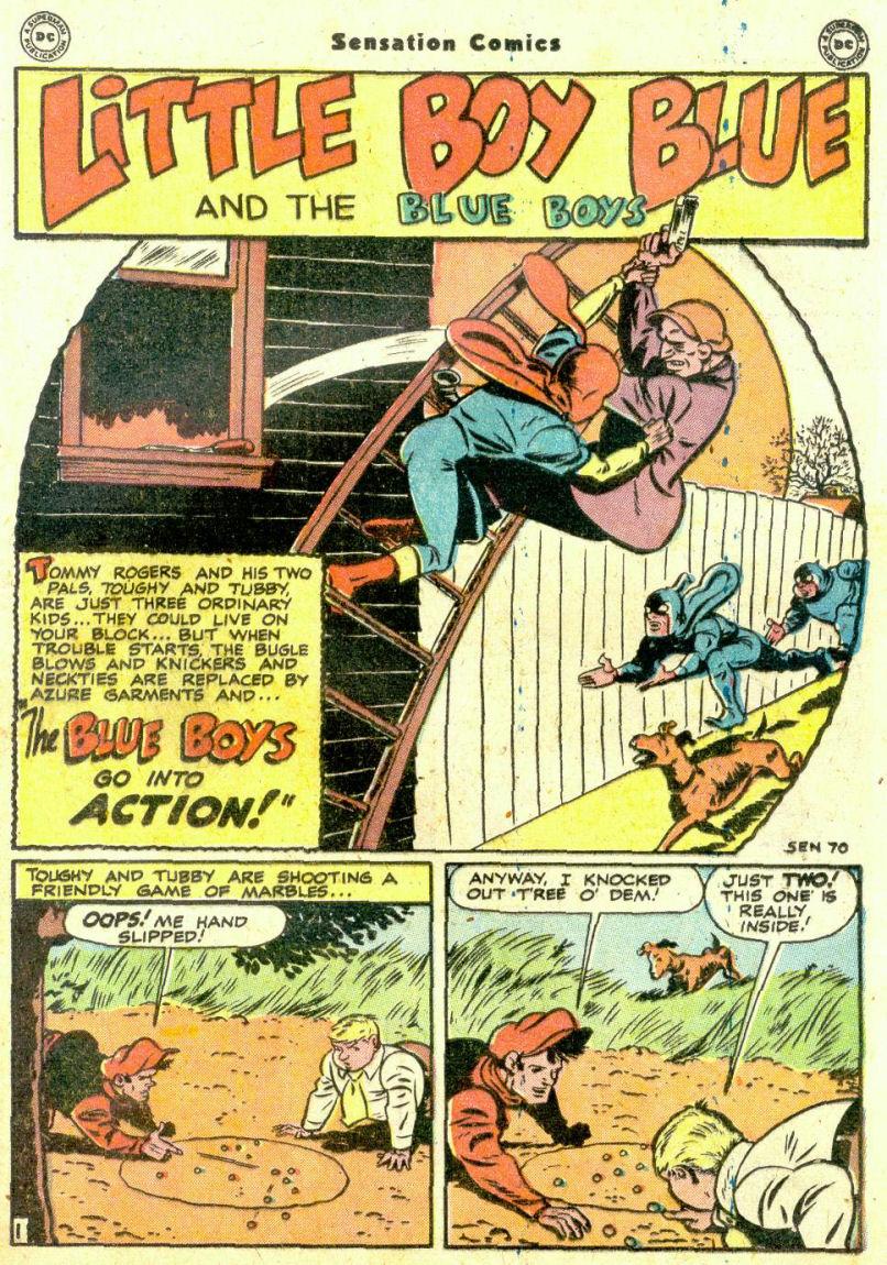 Read online Sensation (Mystery) Comics comic -  Issue #74 - 17