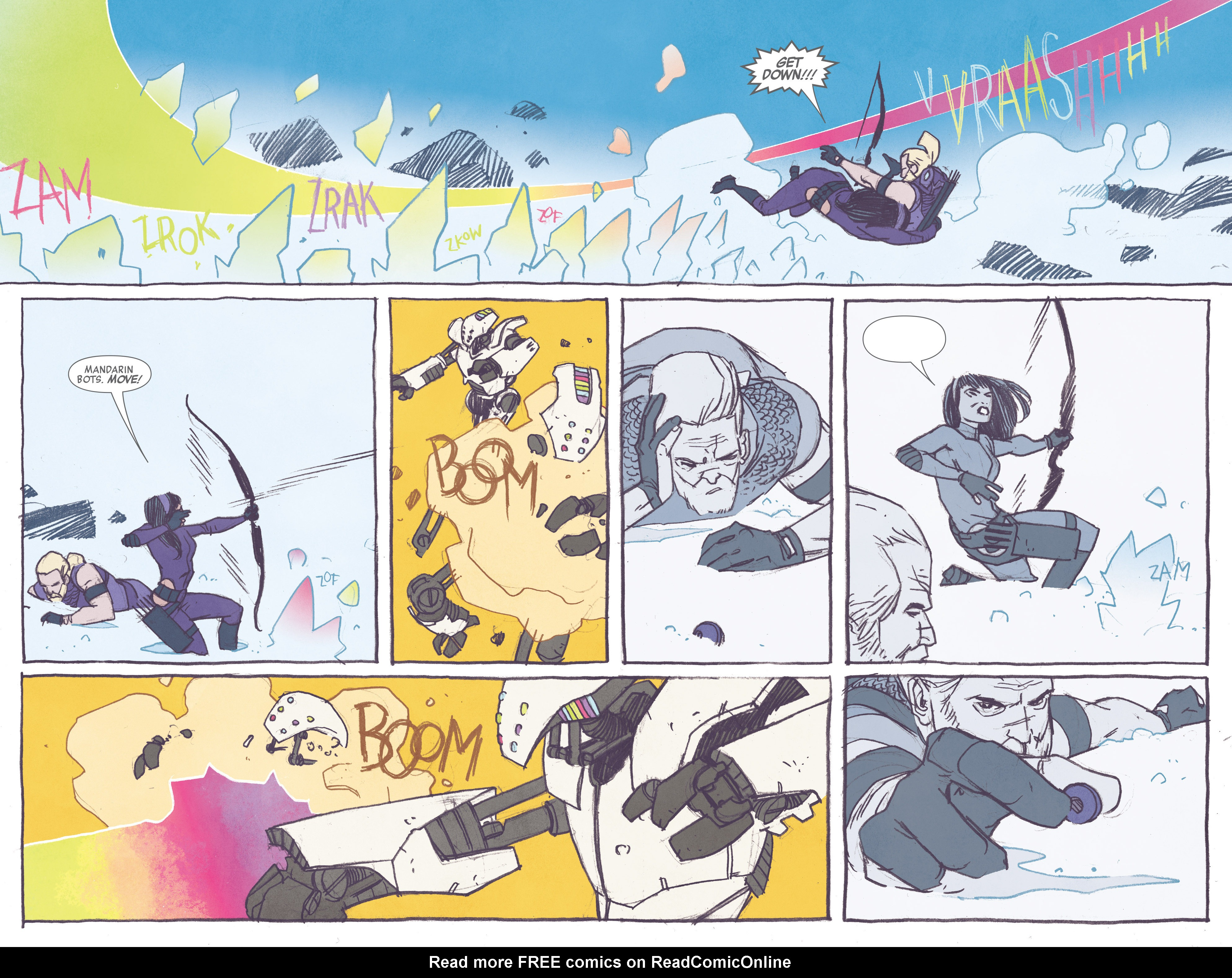 Read online All-New Hawkeye (2016) comic -  Issue #1 - 16