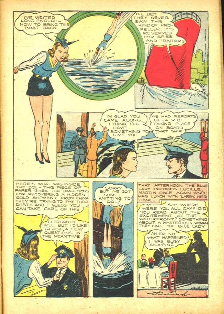 Read online Amazing Man Comics comic -  Issue #25 - 59
