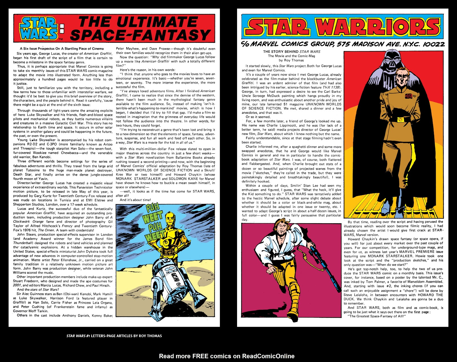Read online Star Wars Legends: The Original Marvel Years - Epic Collection comic -  Issue # TPB 1 (Part 5) - 78