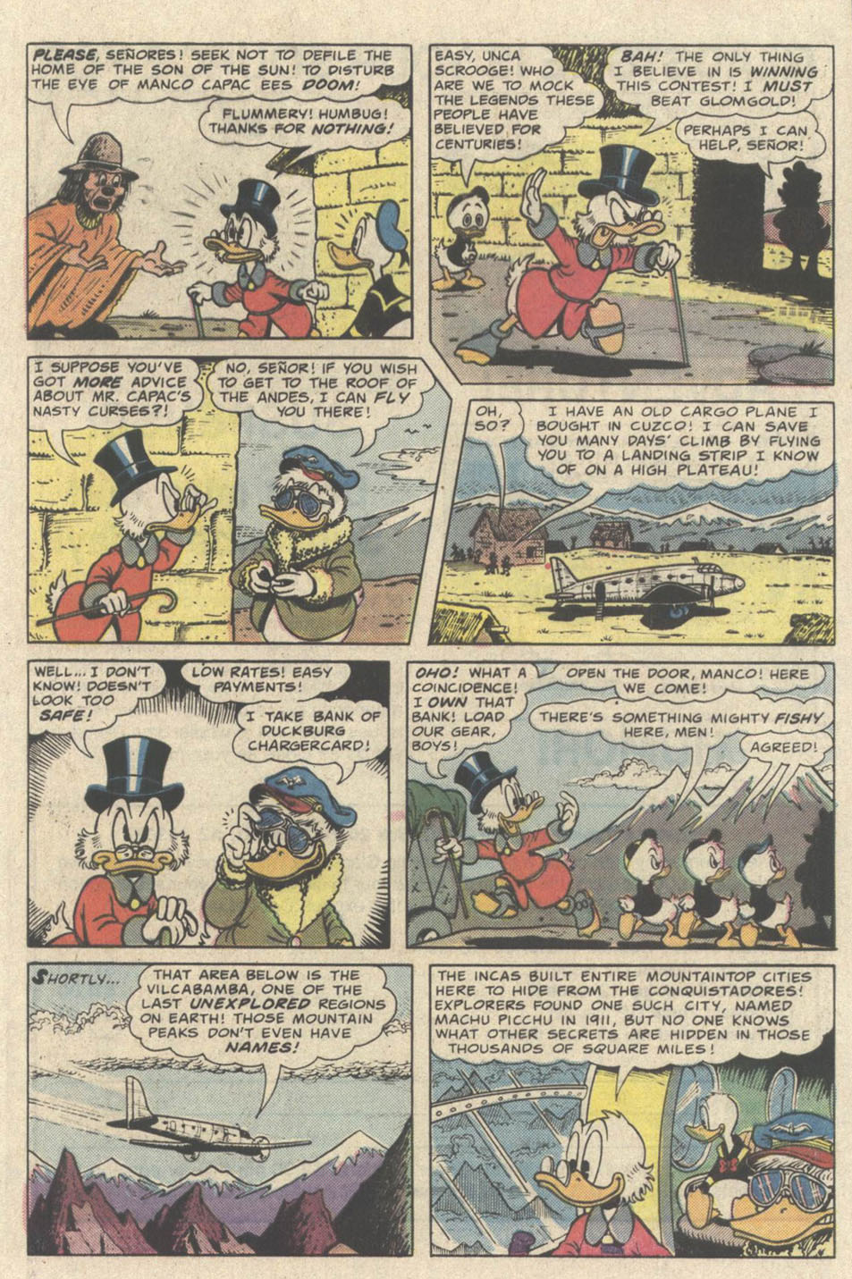 Read online Uncle Scrooge (1953) comic -  Issue #219 - 9