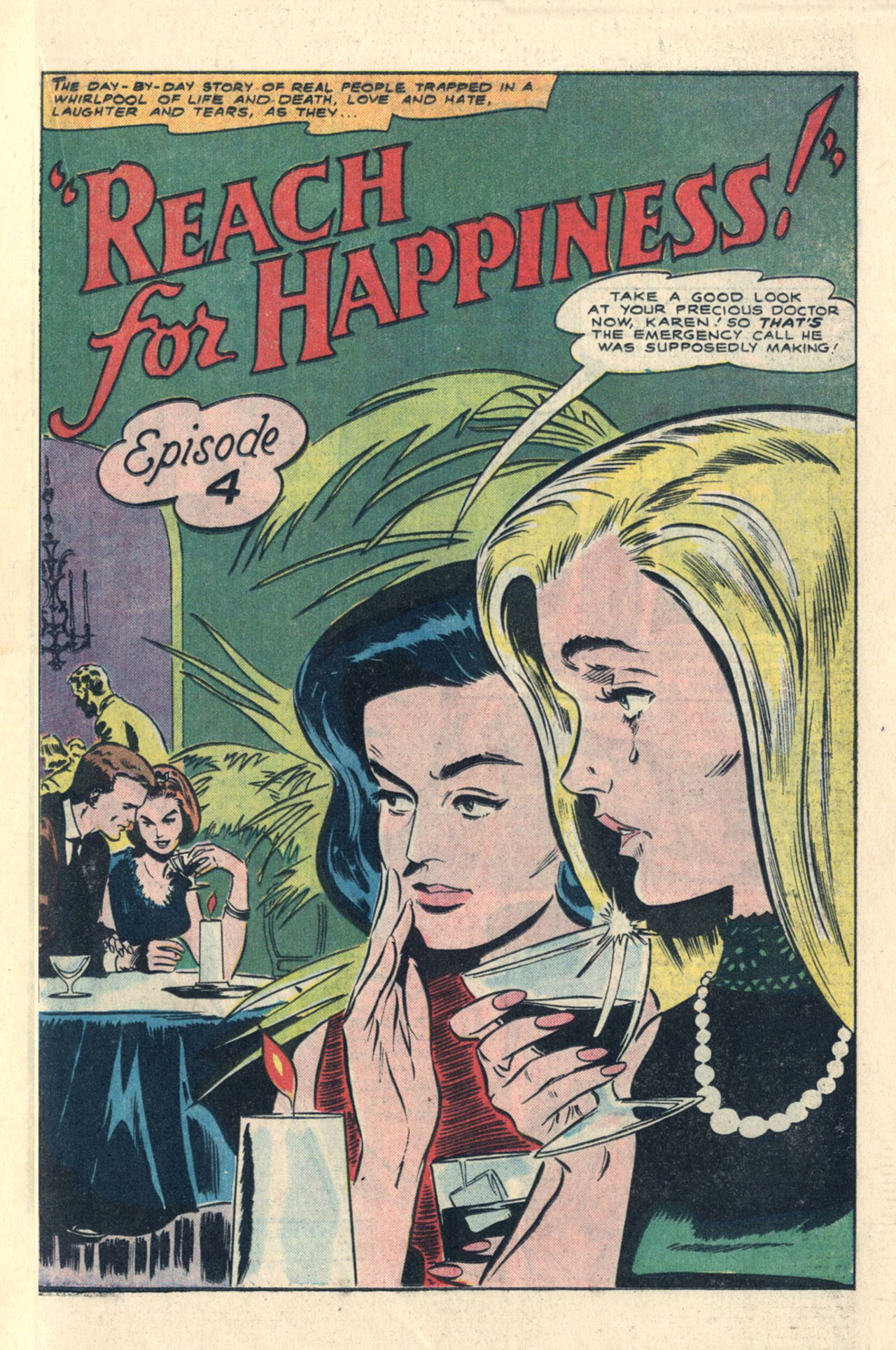 Read online Secret Hearts comic -  Issue #113 - 19
