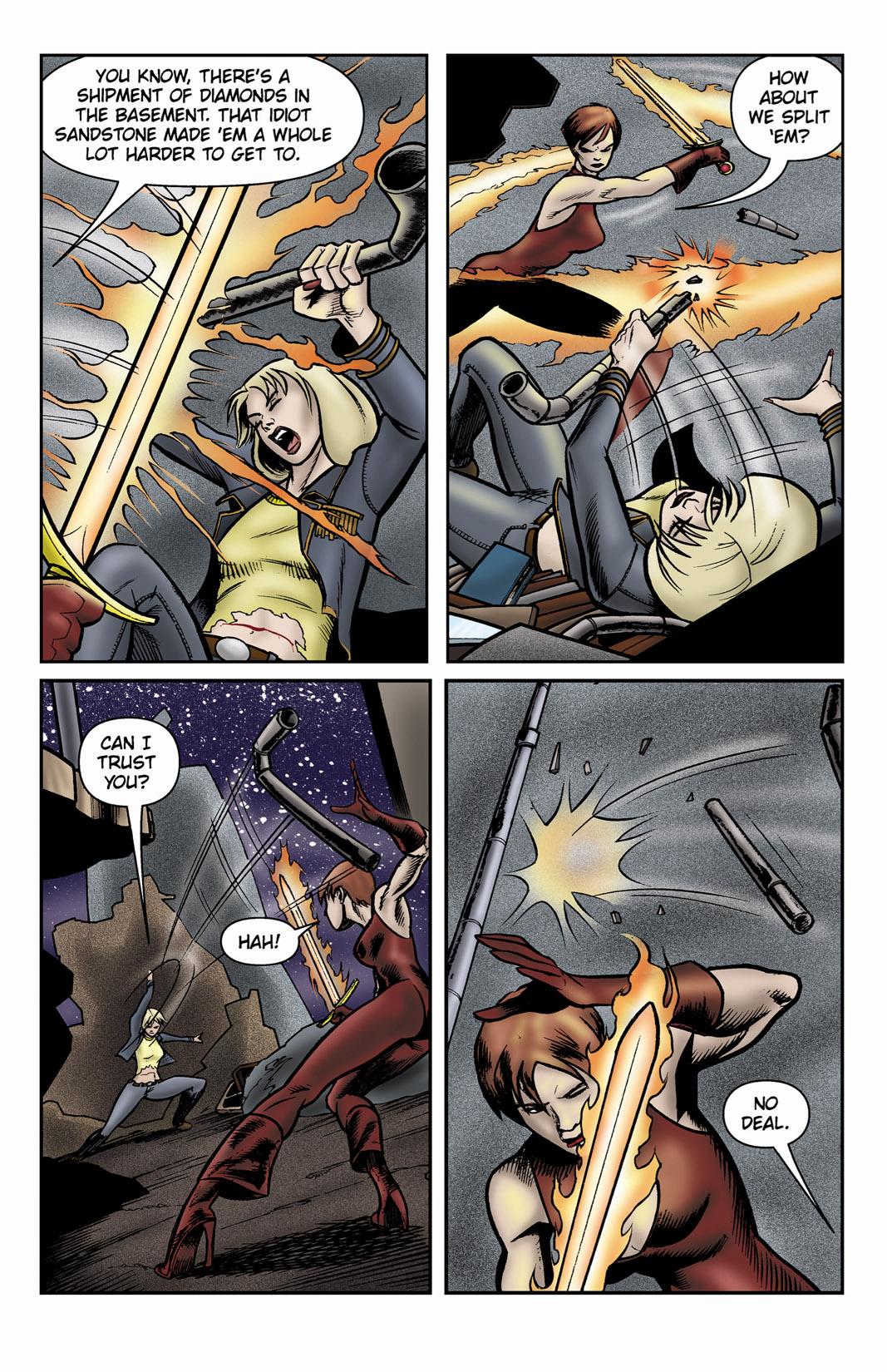 Read online SideChicks comic -  Issue #3 - 29