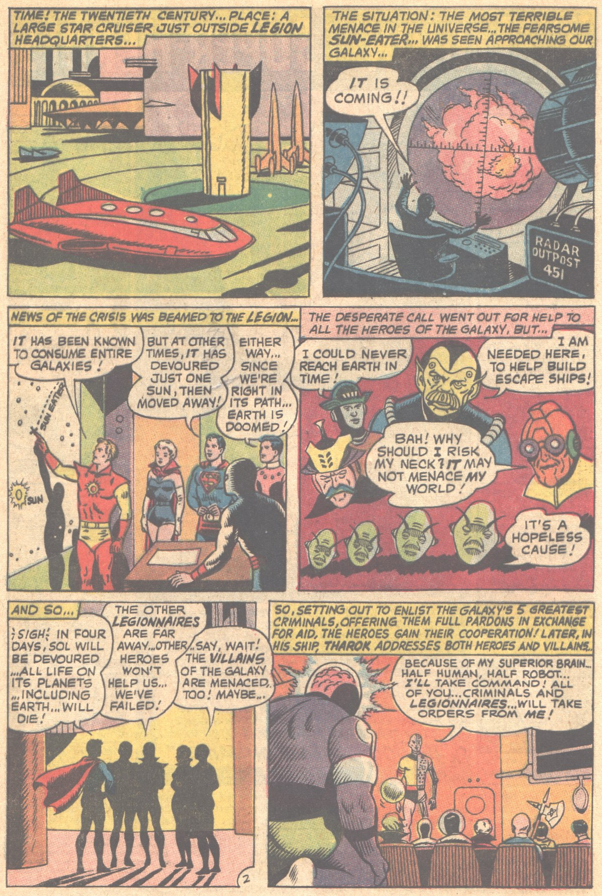 Read online Adventure Comics (1938) comic -  Issue #353 - 4