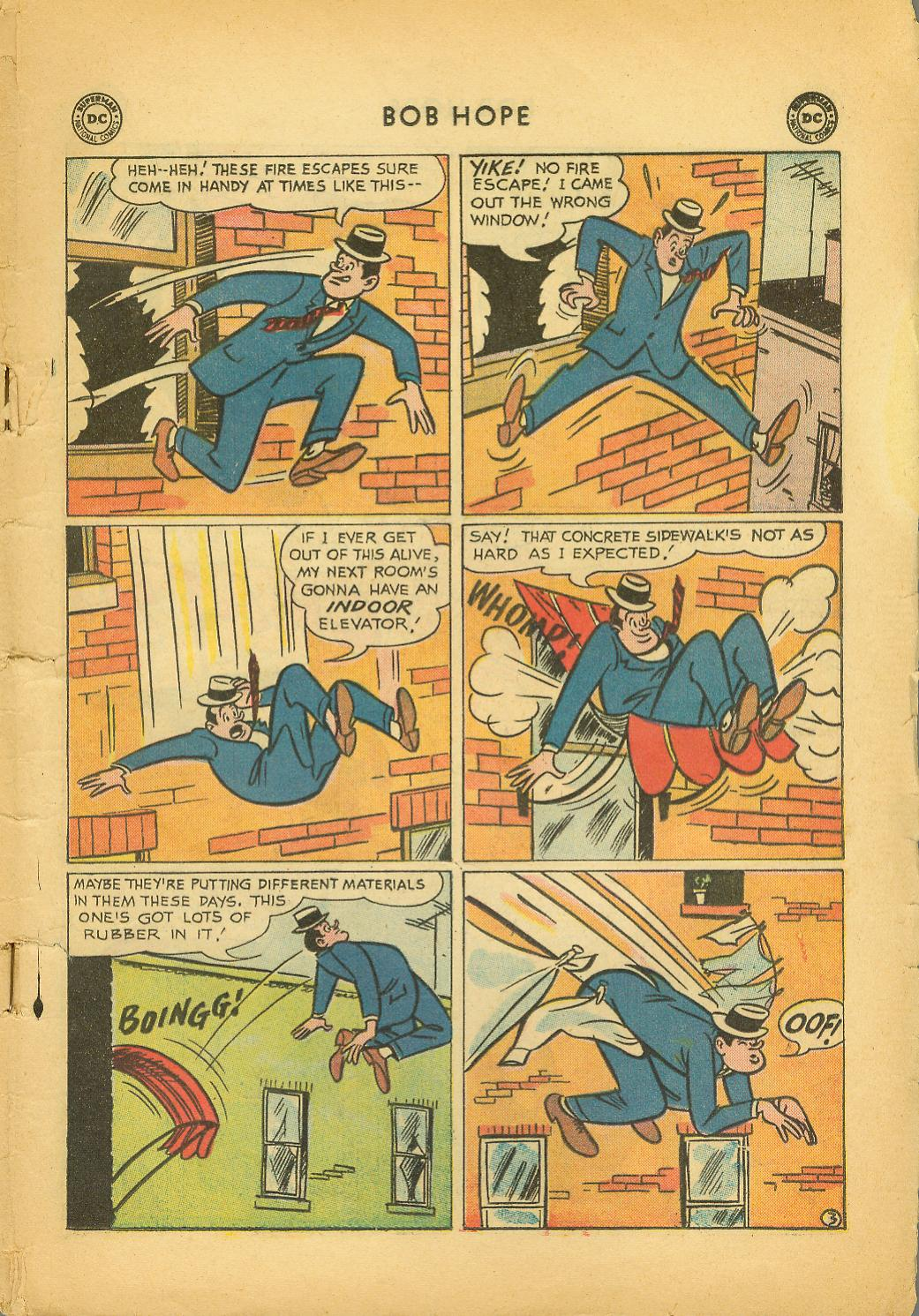 The Adventures of Bob Hope issue 64 - Page 5