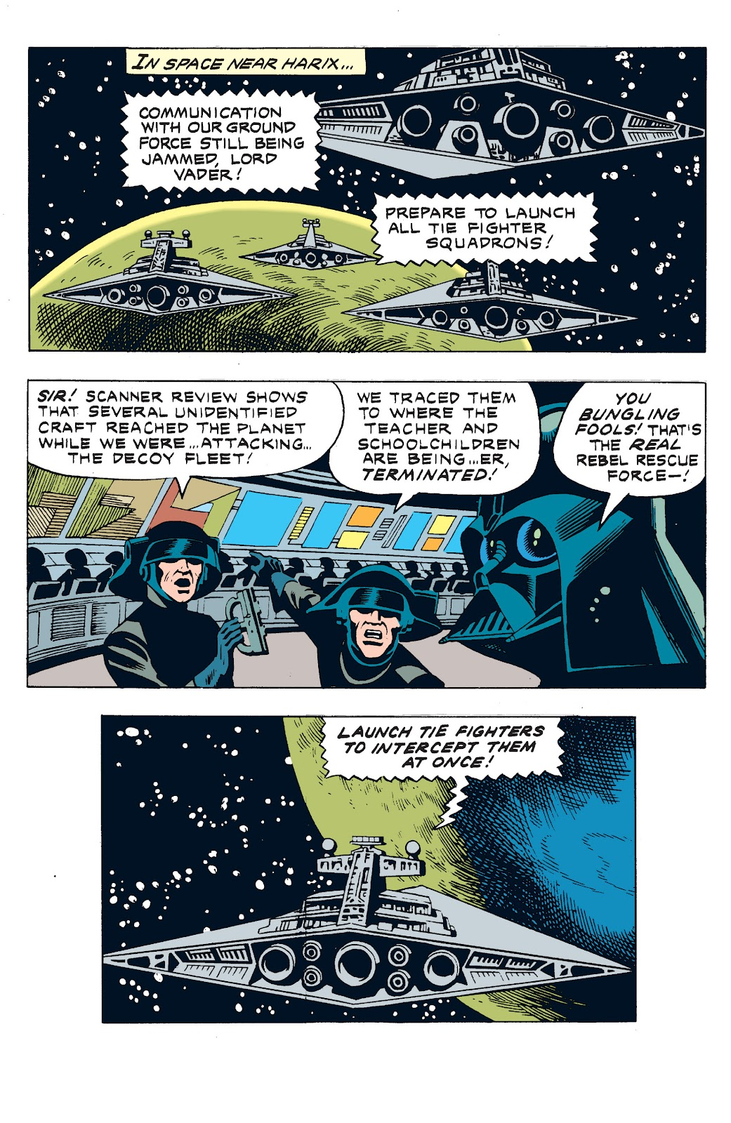 Read online Star Wars Legends: The Newspaper Strips - Epic Collection comic -  Issue # TPB (Part 3) - 24