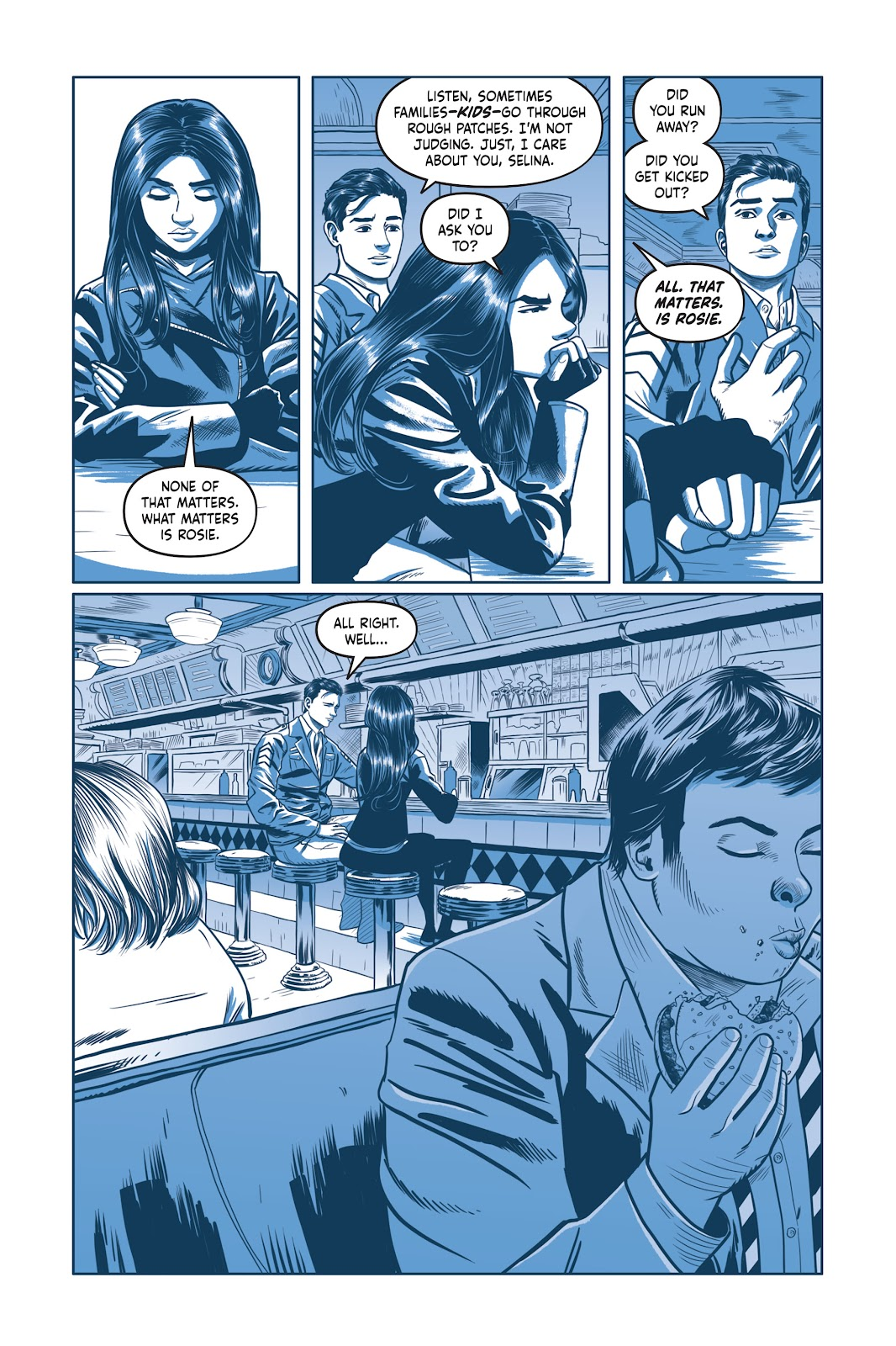 Read online Under the Moon: A Catwoman Tale comic -  Issue # TPB (Part 2) - 62