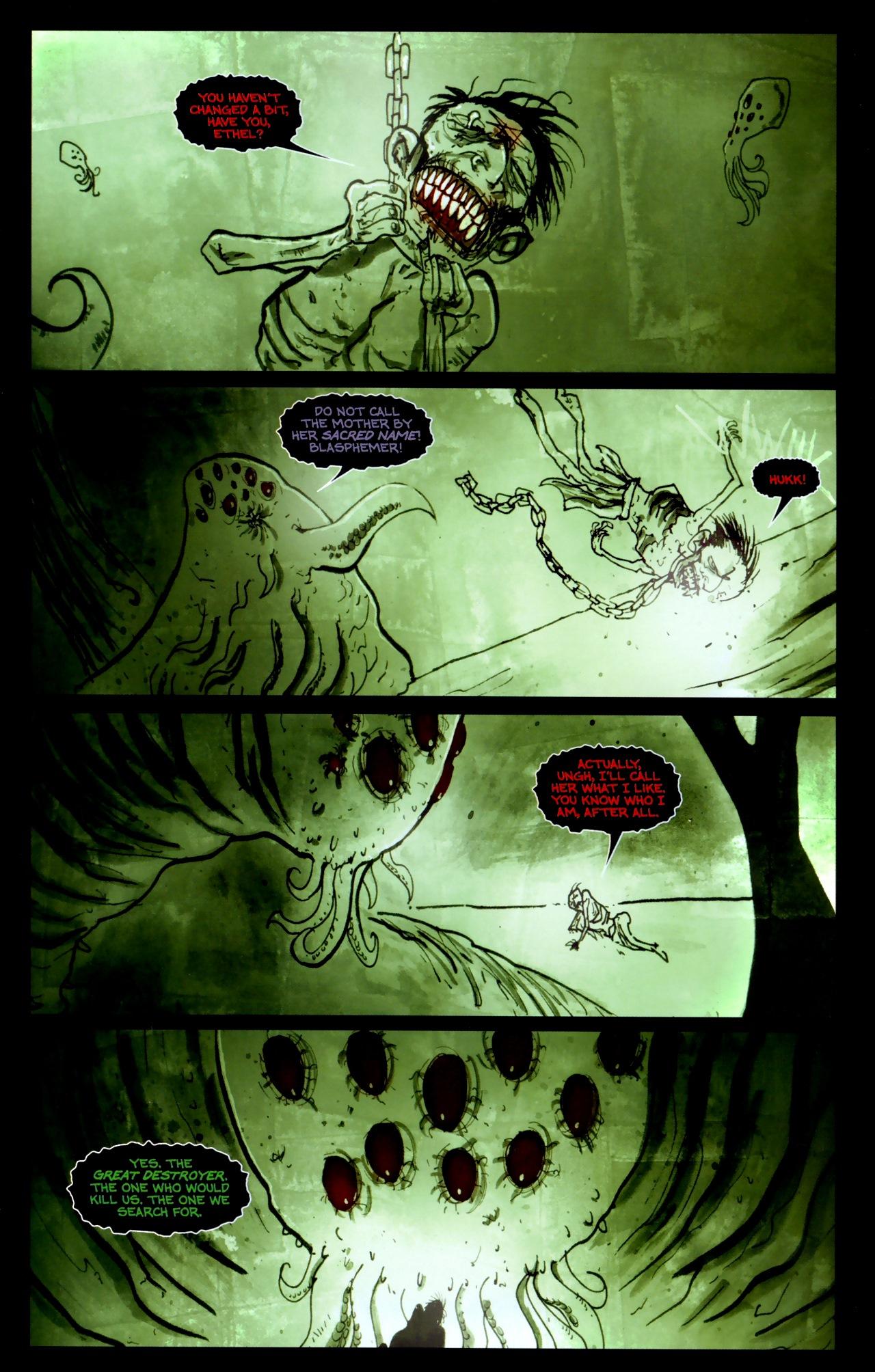 Read online Wormwood: Gentleman Corpse comic -  Issue #11 - 6