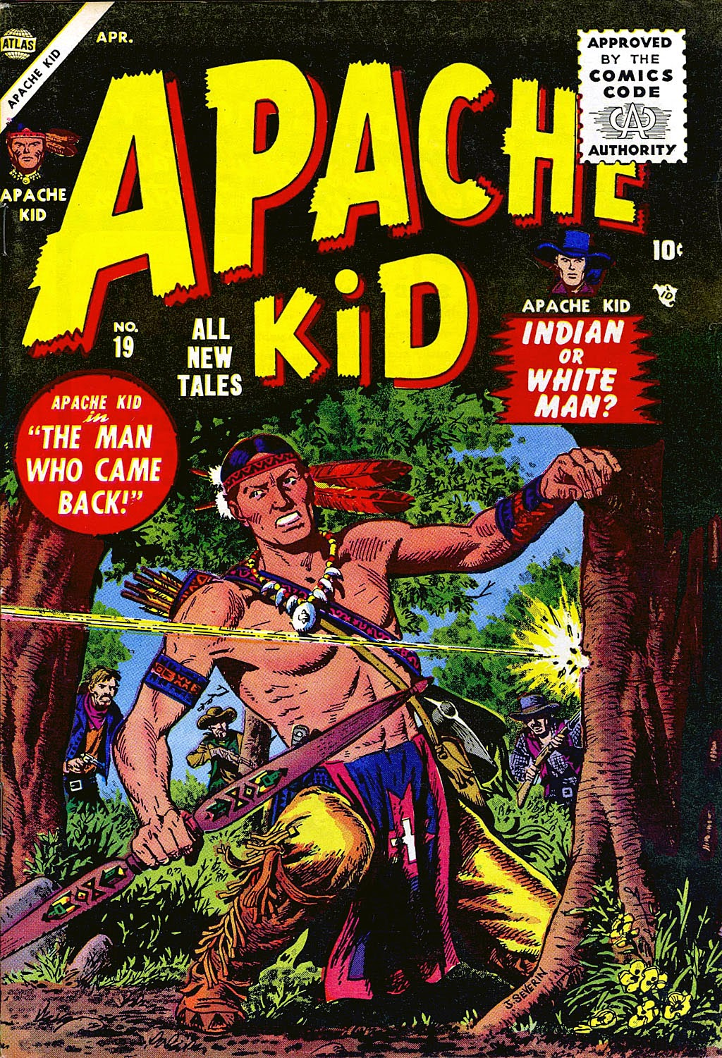 Apache Kid issue 19 - Page 1