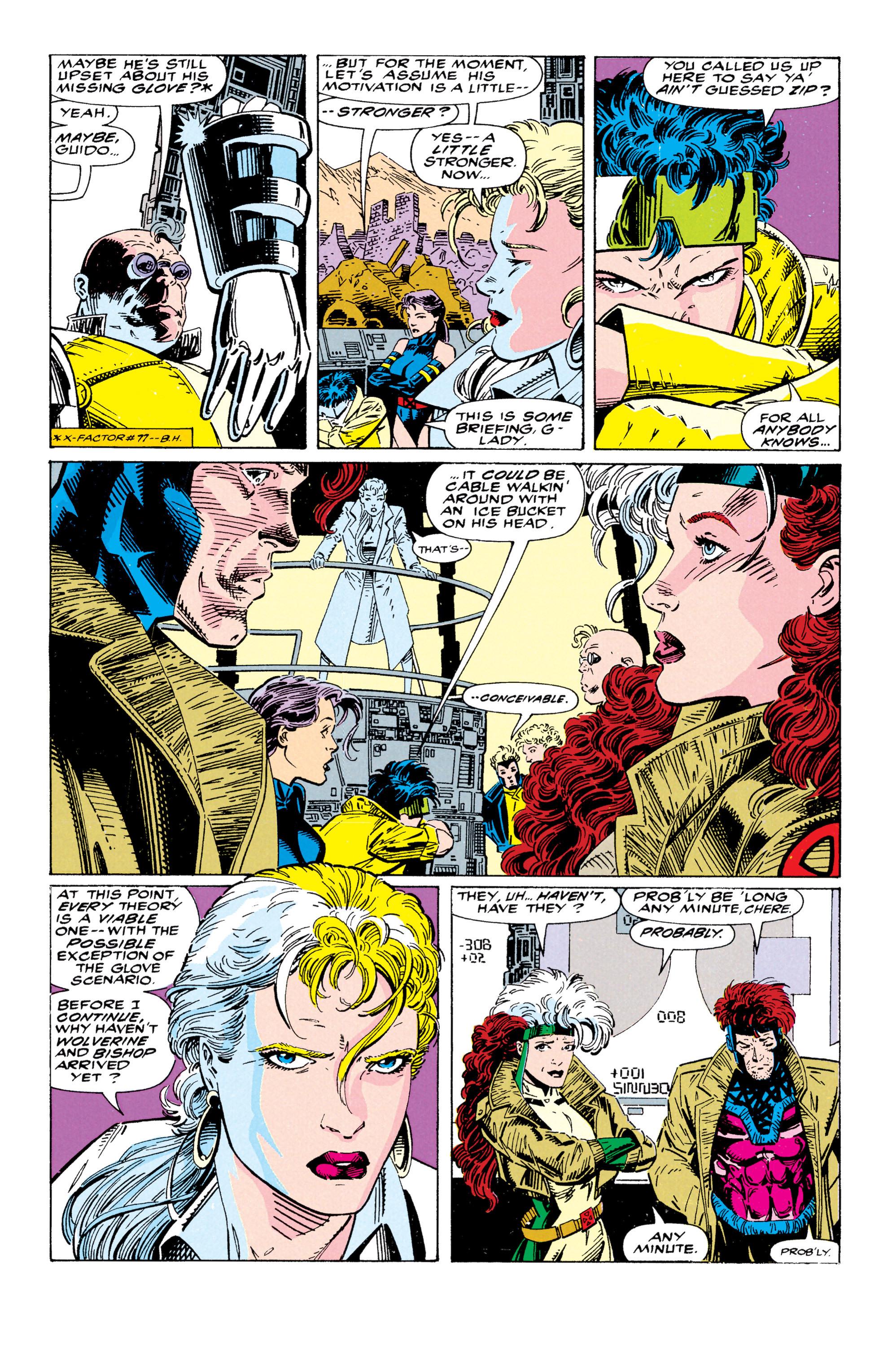 Read online Uncanny X-Men (1963) comic -  Issue #295 - 14