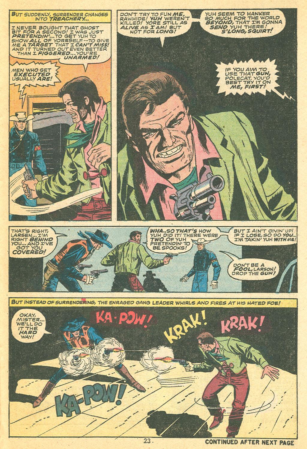 Read online Two-Gun Kid comic -  Issue #108 - 24