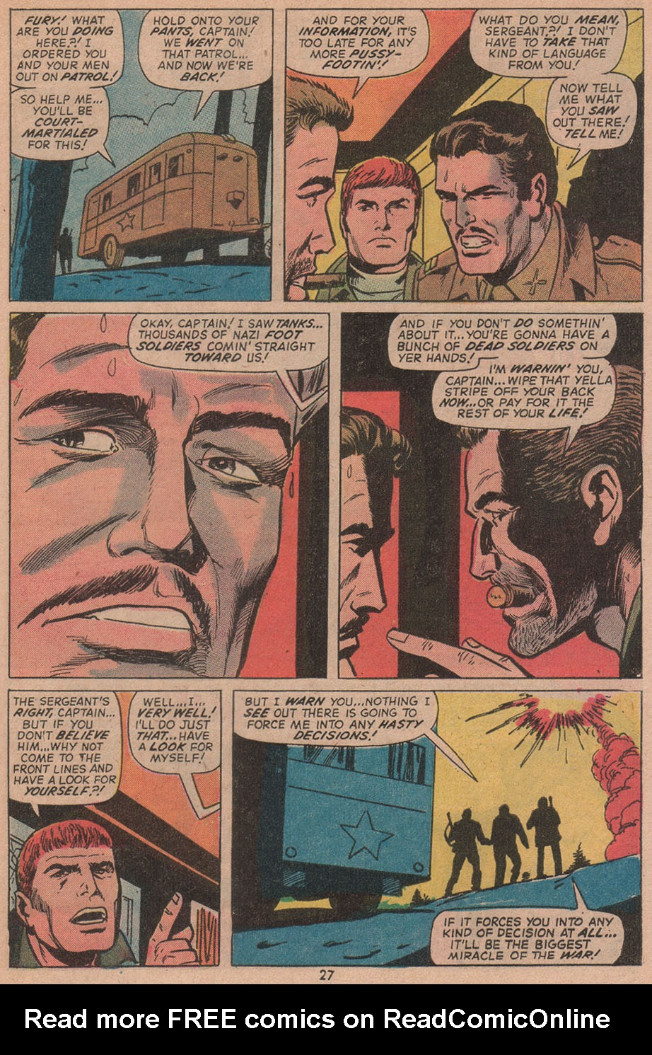 Read online Sgt. Fury comic -  Issue #104 - 29