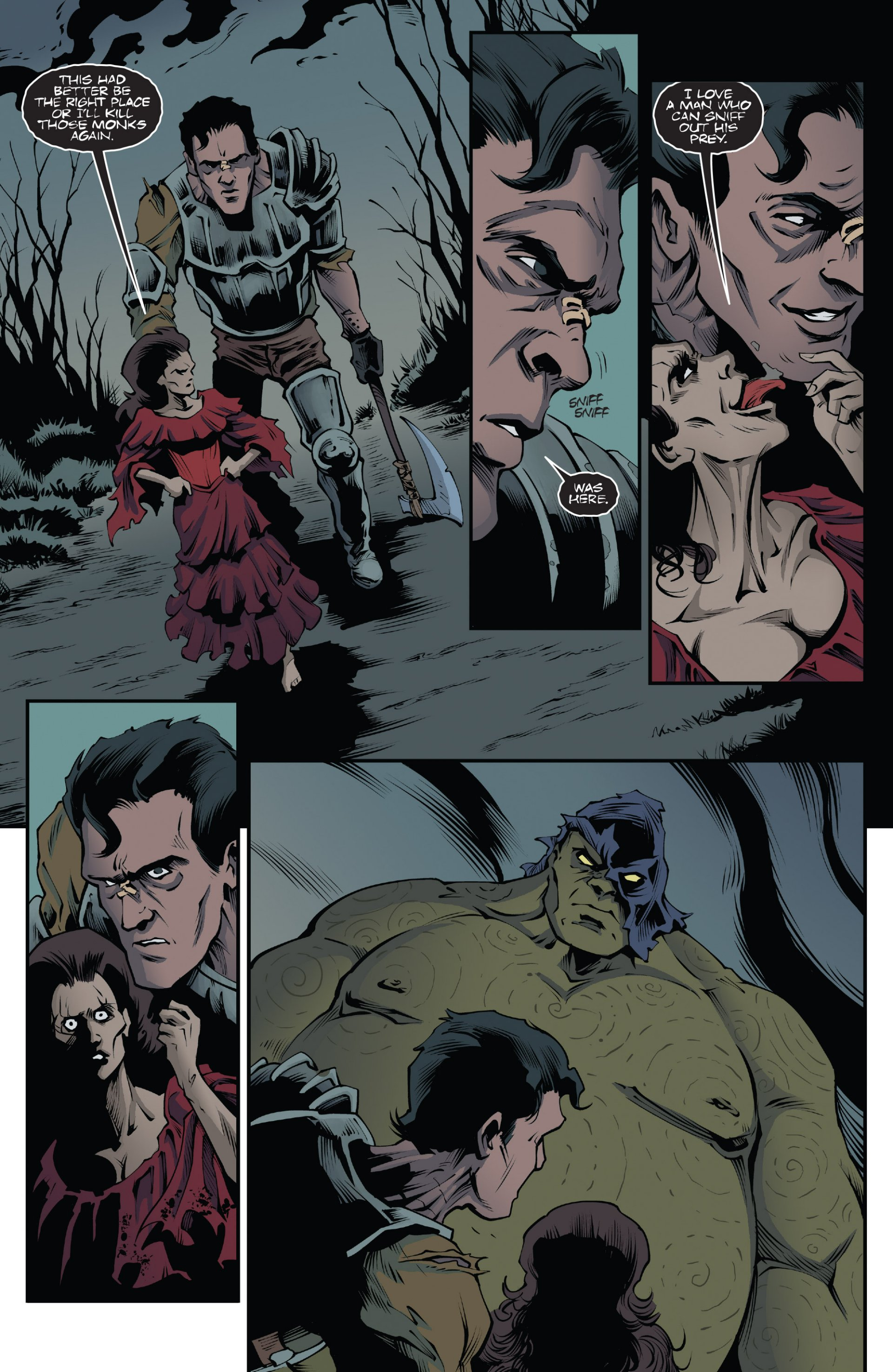 Read online Ash and the Army of Darkness comic -  Issue #7 - 14