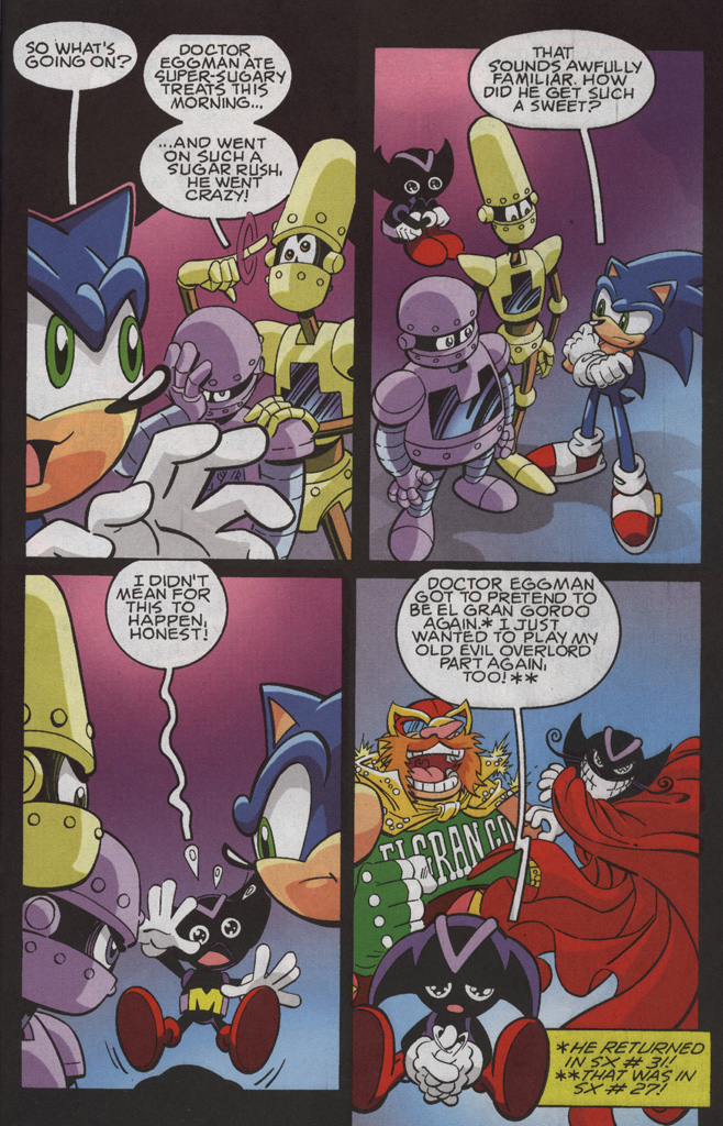 Read online Sonic X comic -  Issue #35 - 17