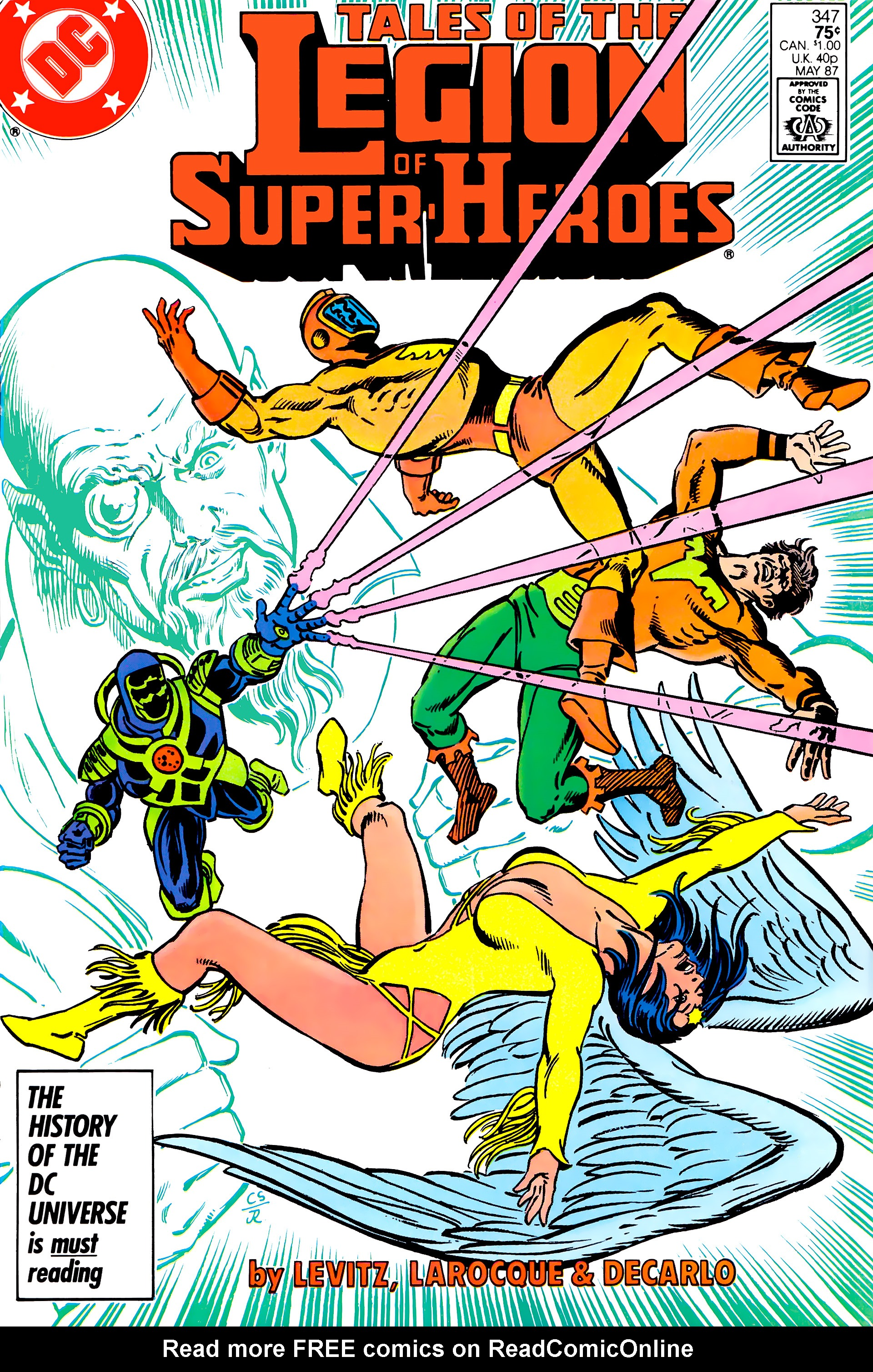 Legion of Super-Heroes (1984) 22 Page 1