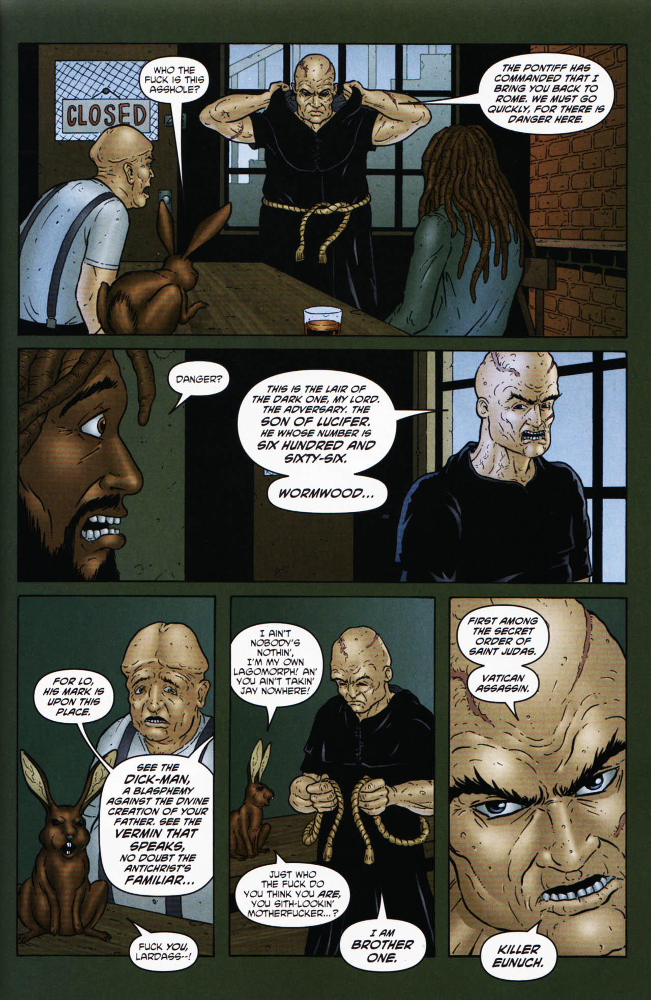 Read online Chronicles of Wormwood: The Last Enemy comic -  Issue # Full - 23