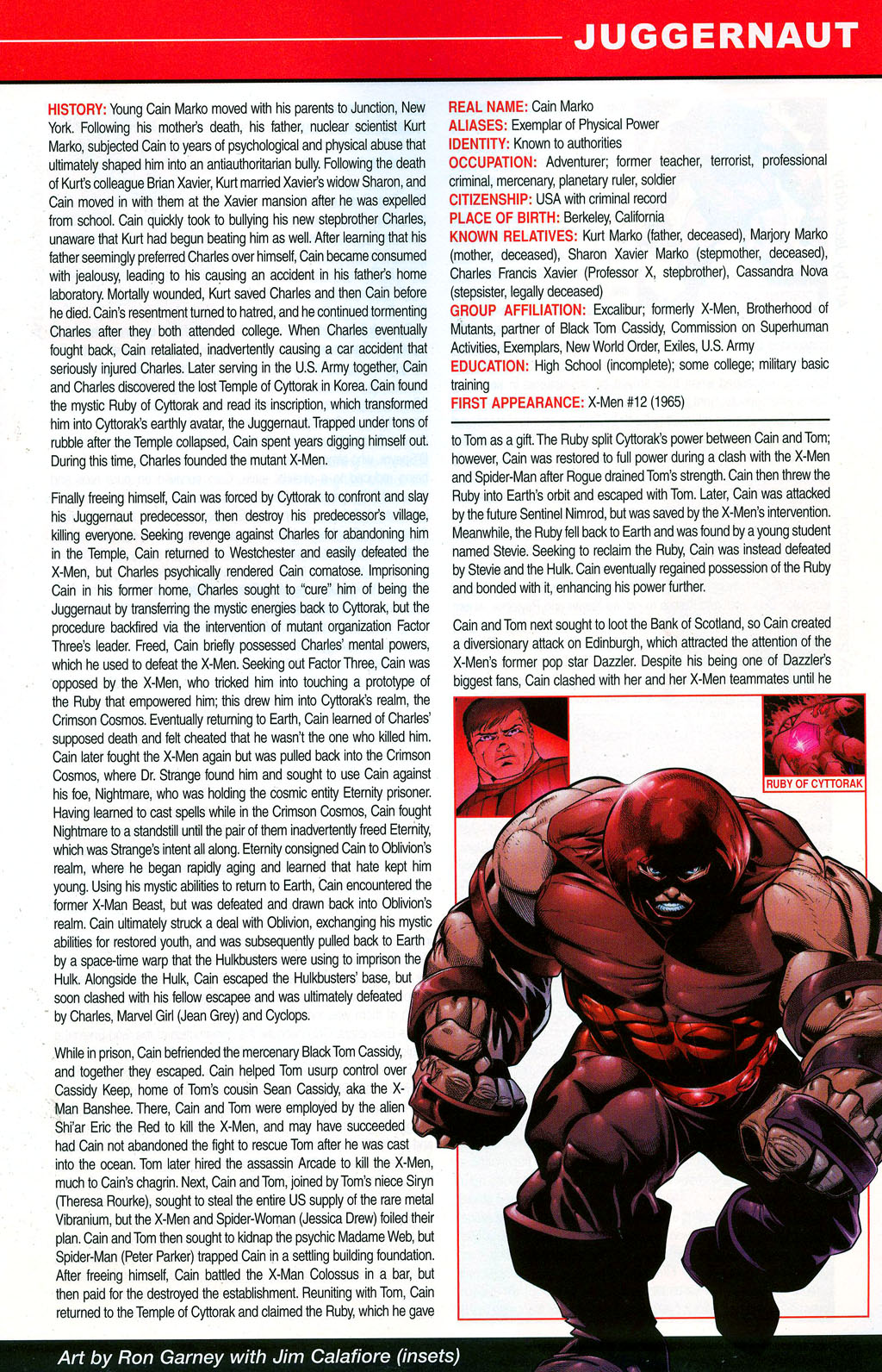 Read online All-New Official Handbook of the Marvel Universe A to Z: Update comic -  Issue #3 - 25