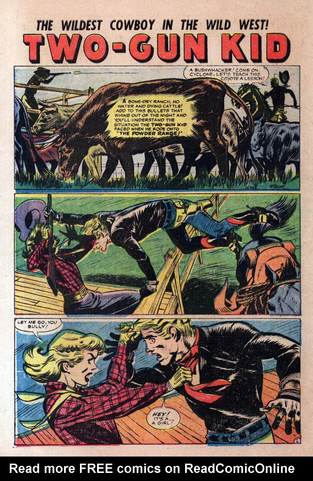 Read online Two-Gun Kid comic -  Issue #30 - 28