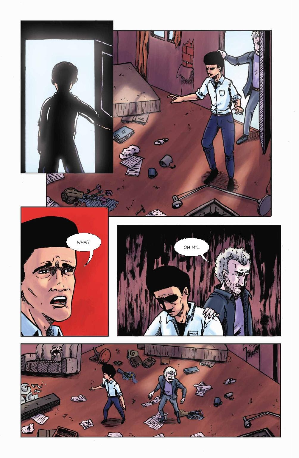 Read online Wolvv comic -  Issue #1 - 24