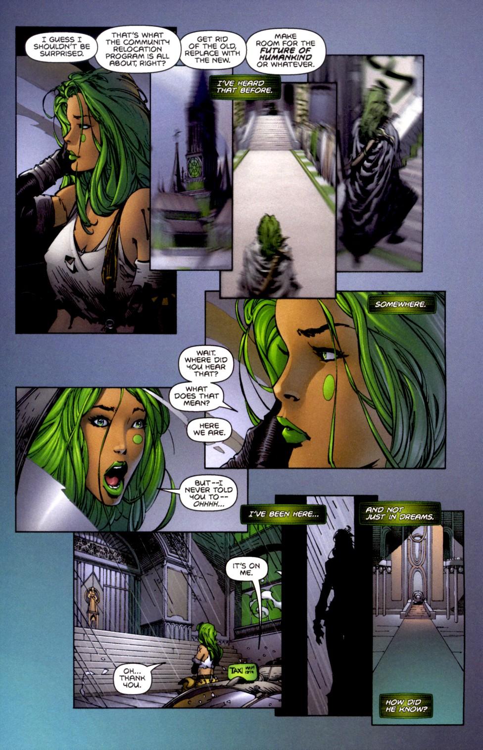 Read online Aphrodite IX (2000) comic -  Issue #2 - 17