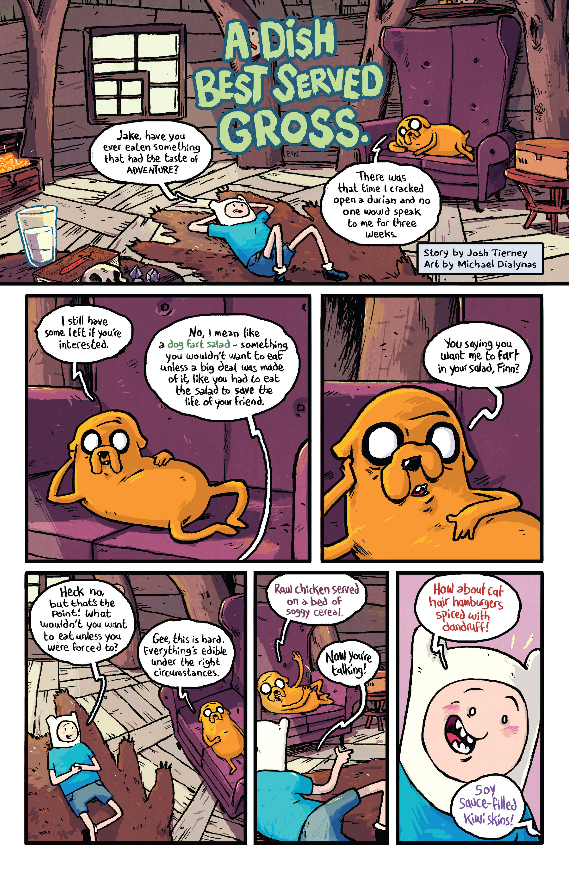 Read online Adventure Time comic -  Issue #29 - 19