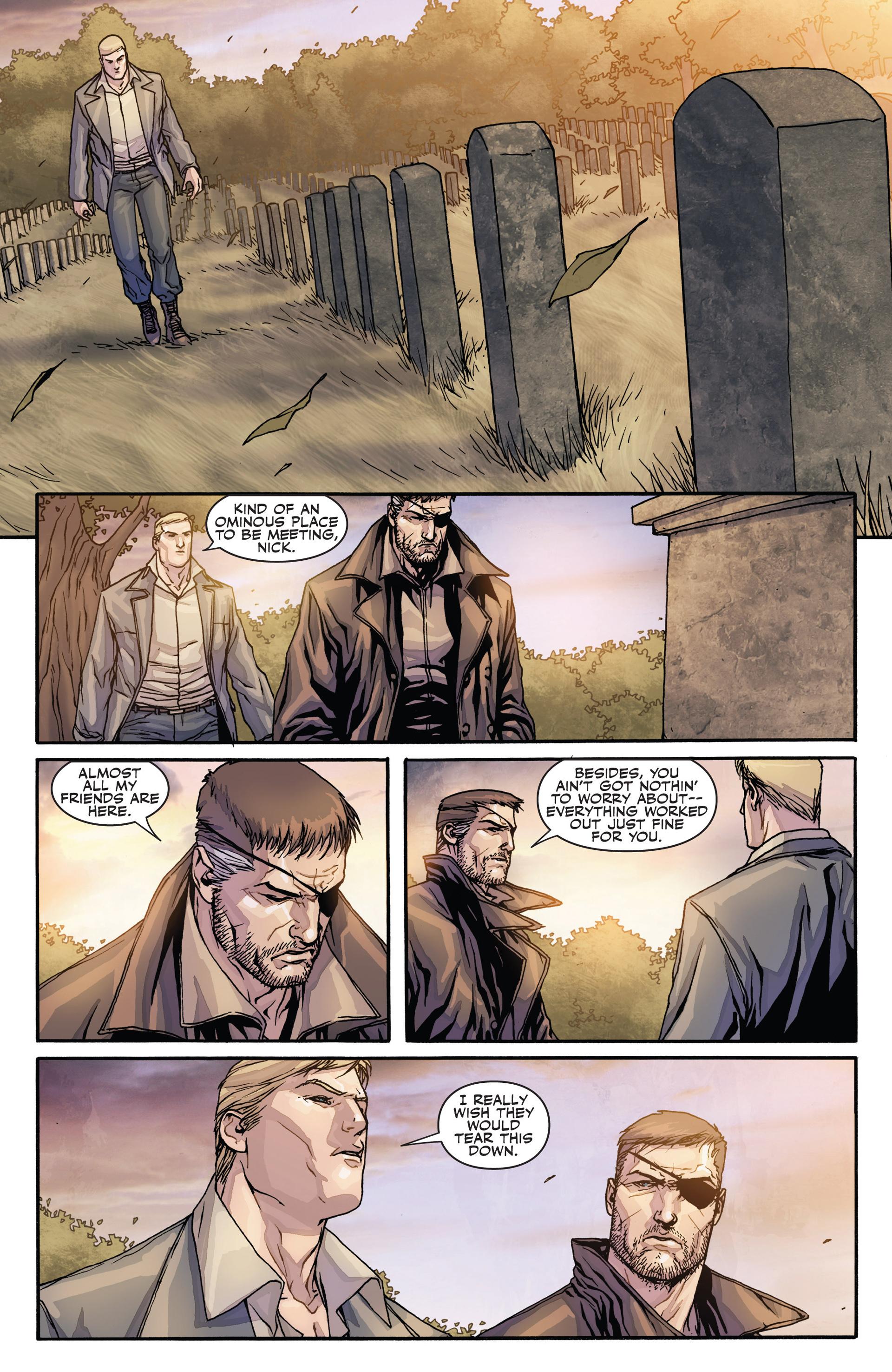Read online Secret Warriors comic -  Issue #28 - 19