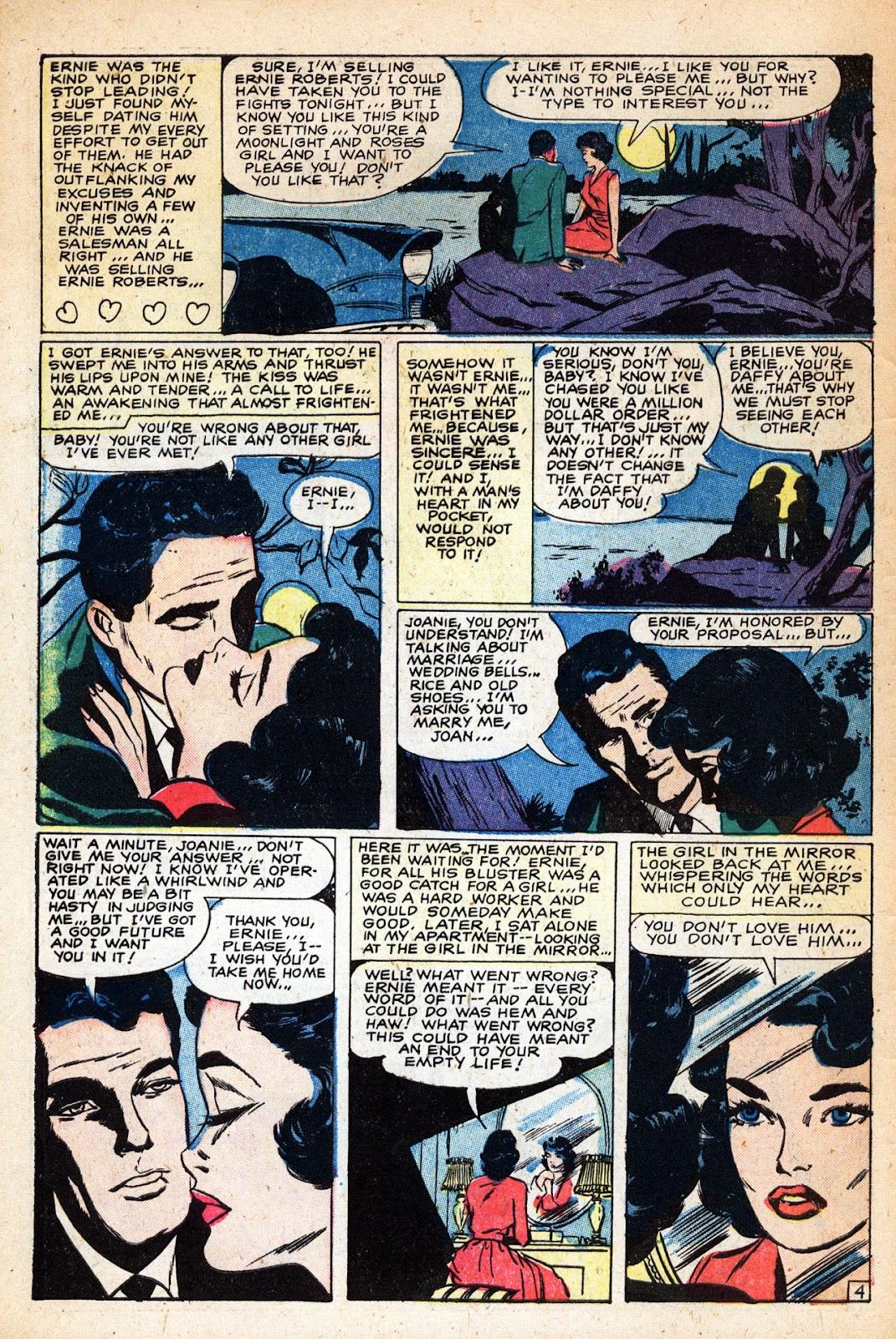 Love Romances (1949) issue 83 - Page 6