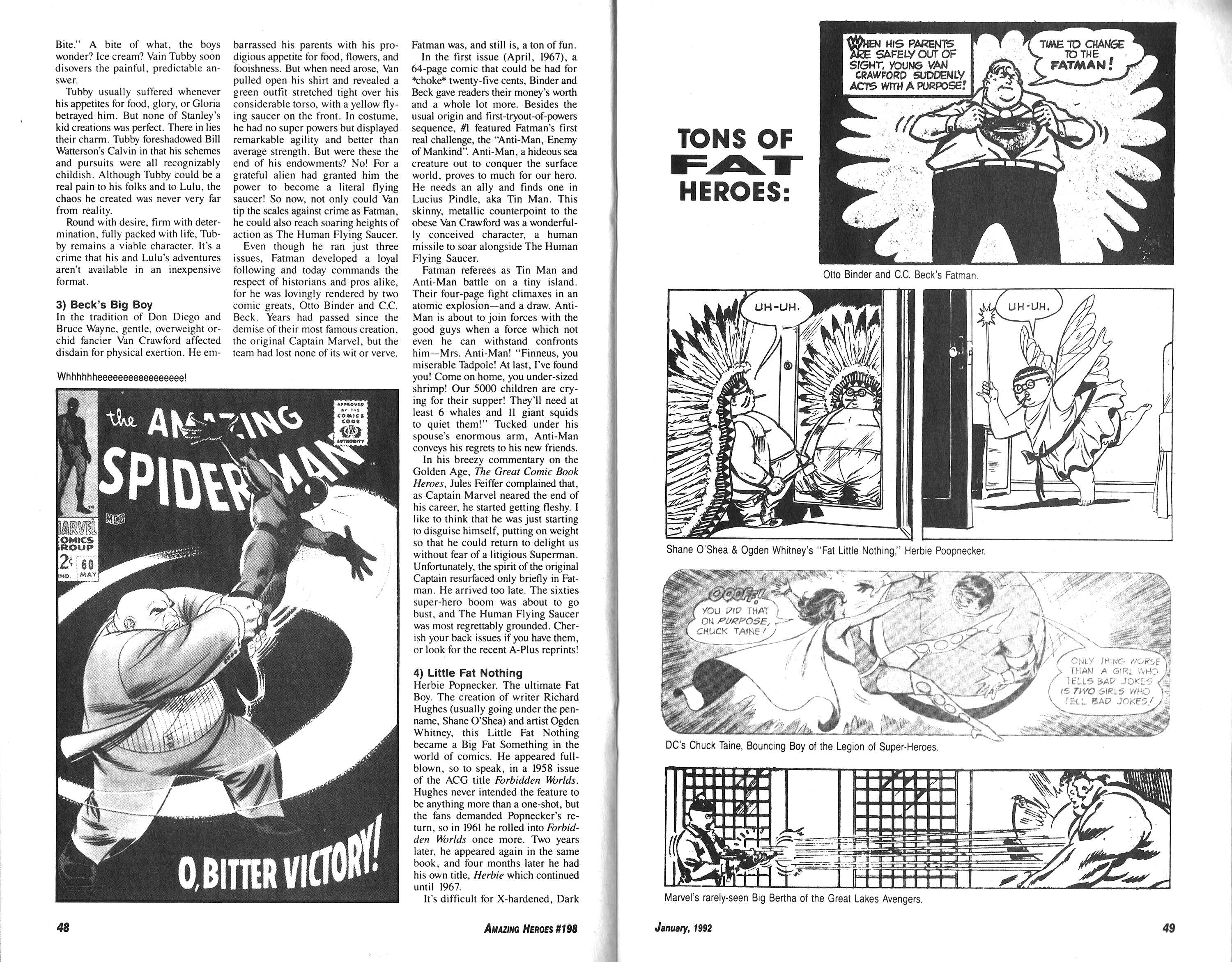 Read online Amazing Heroes comic -  Issue #198 - 25