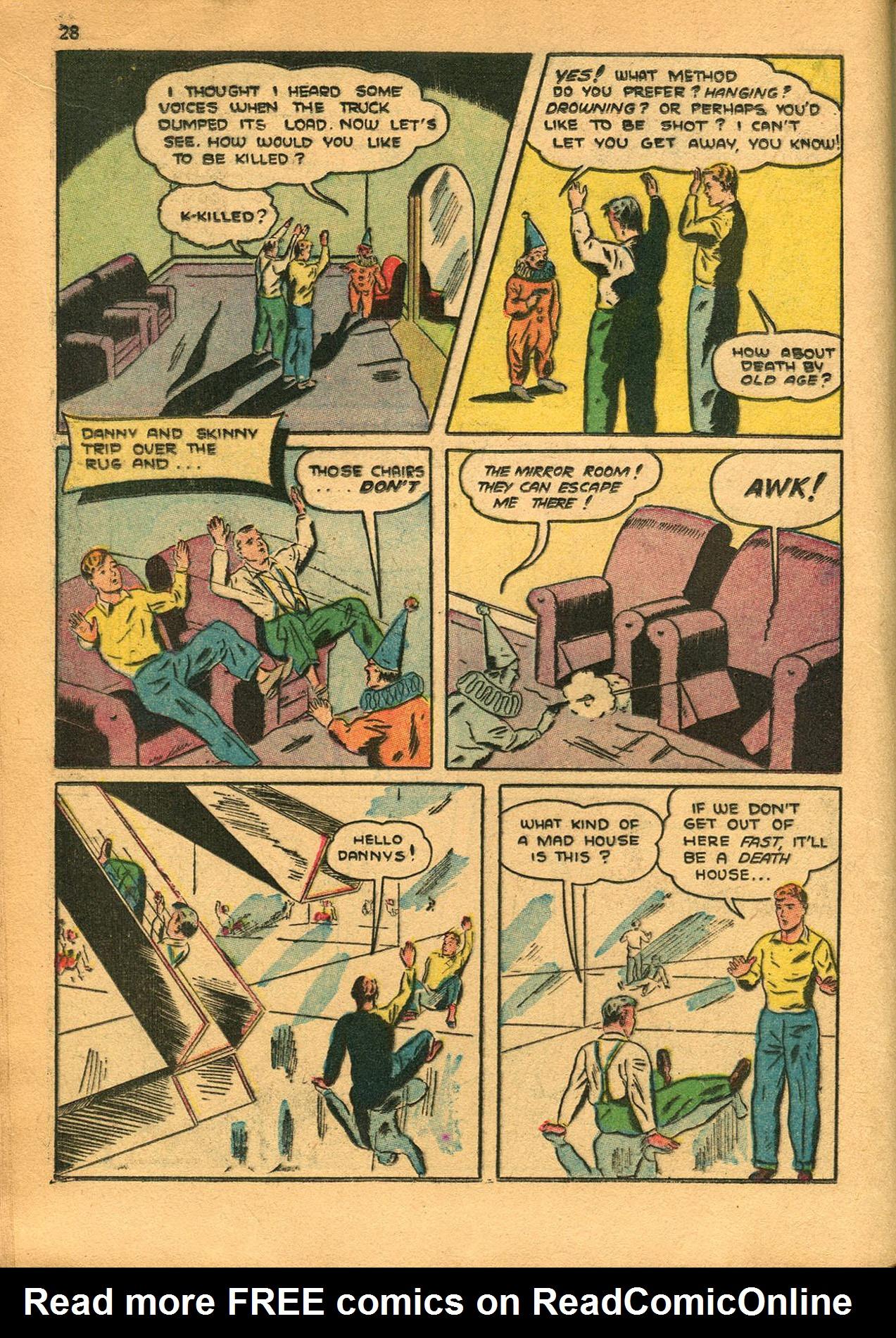 Read online Shadow Comics comic -  Issue #23 - 28